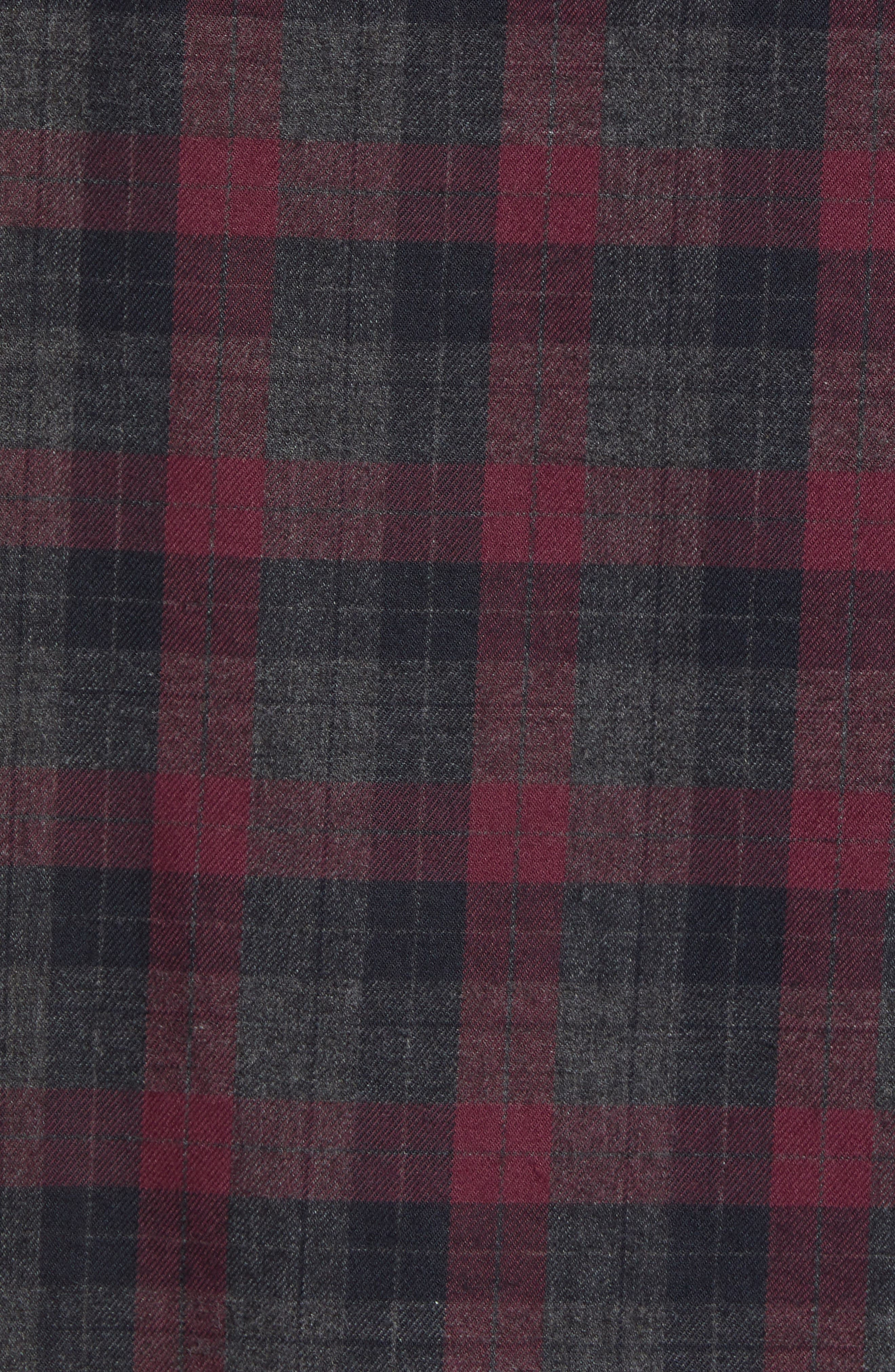 CALIBRATE,                             Check Flannel Shirt,                             Alternate thumbnail 5, color,                             050
