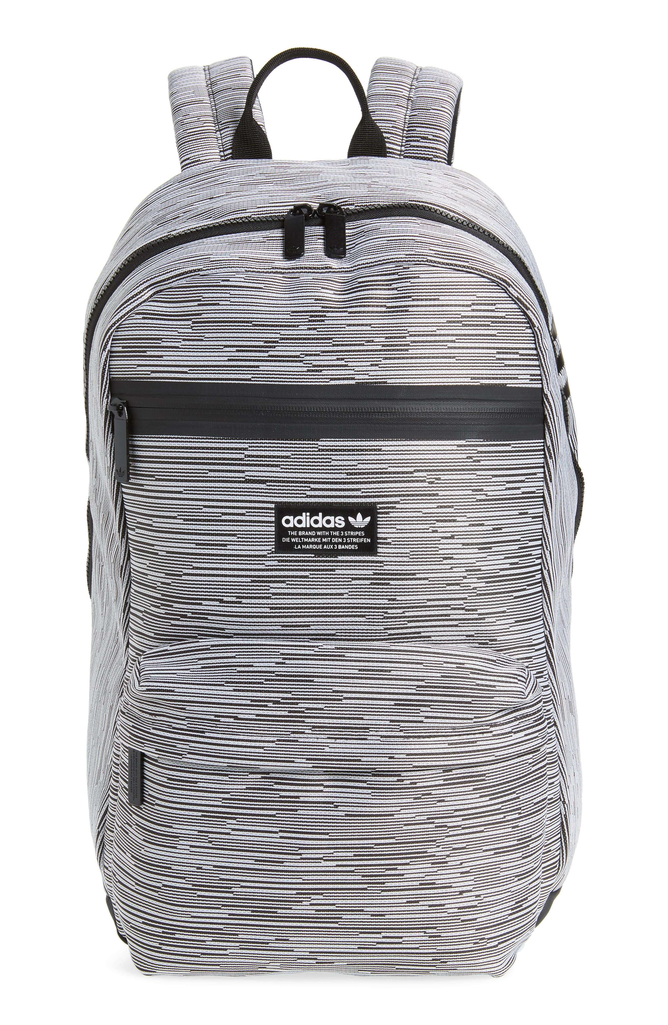 Adidas Originals National Primeknit Backpack - Grey