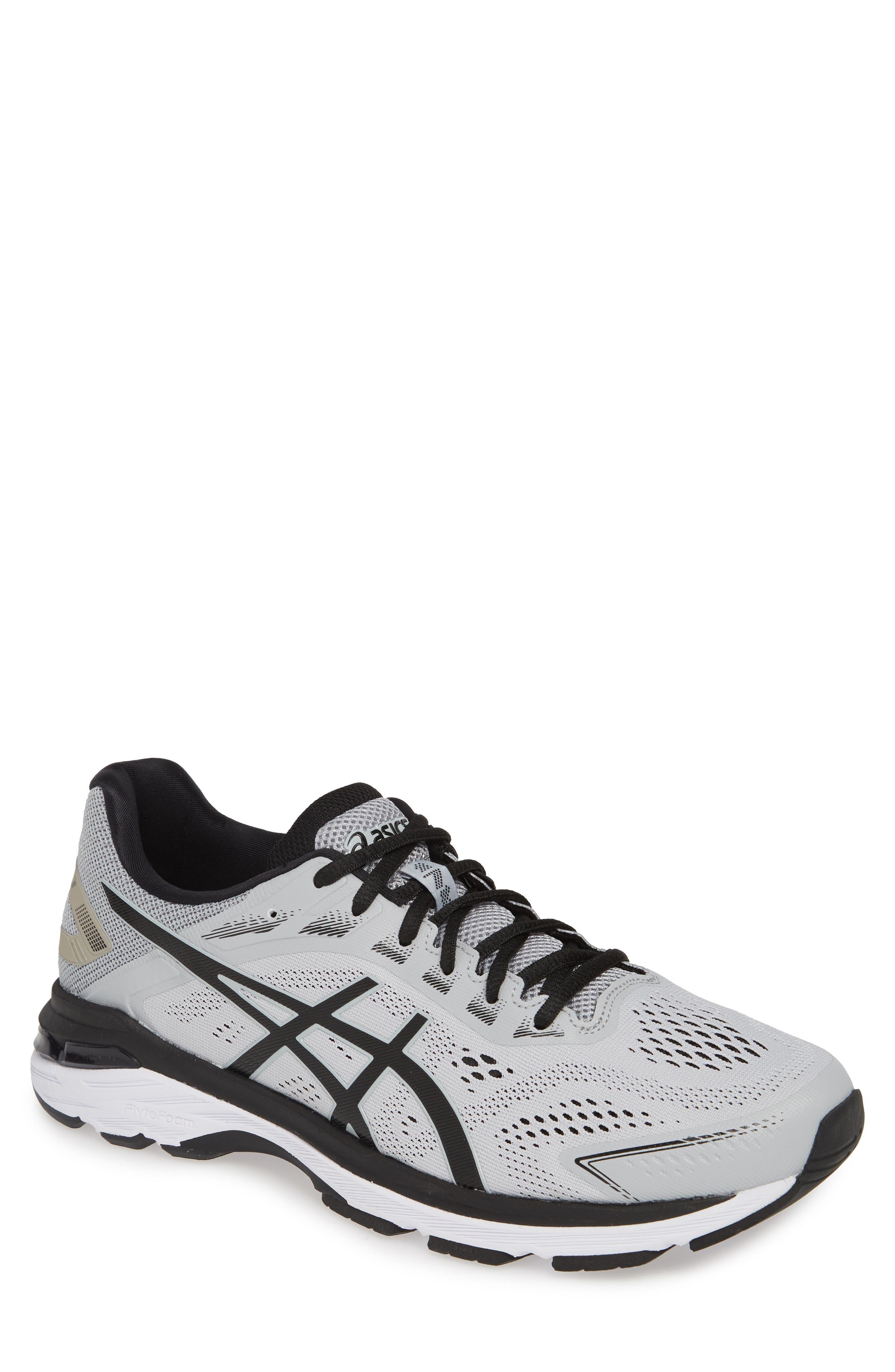 GT-2000 7 Running Shoe,                             Main thumbnail 1, color,                             MID GREY/ BLACK