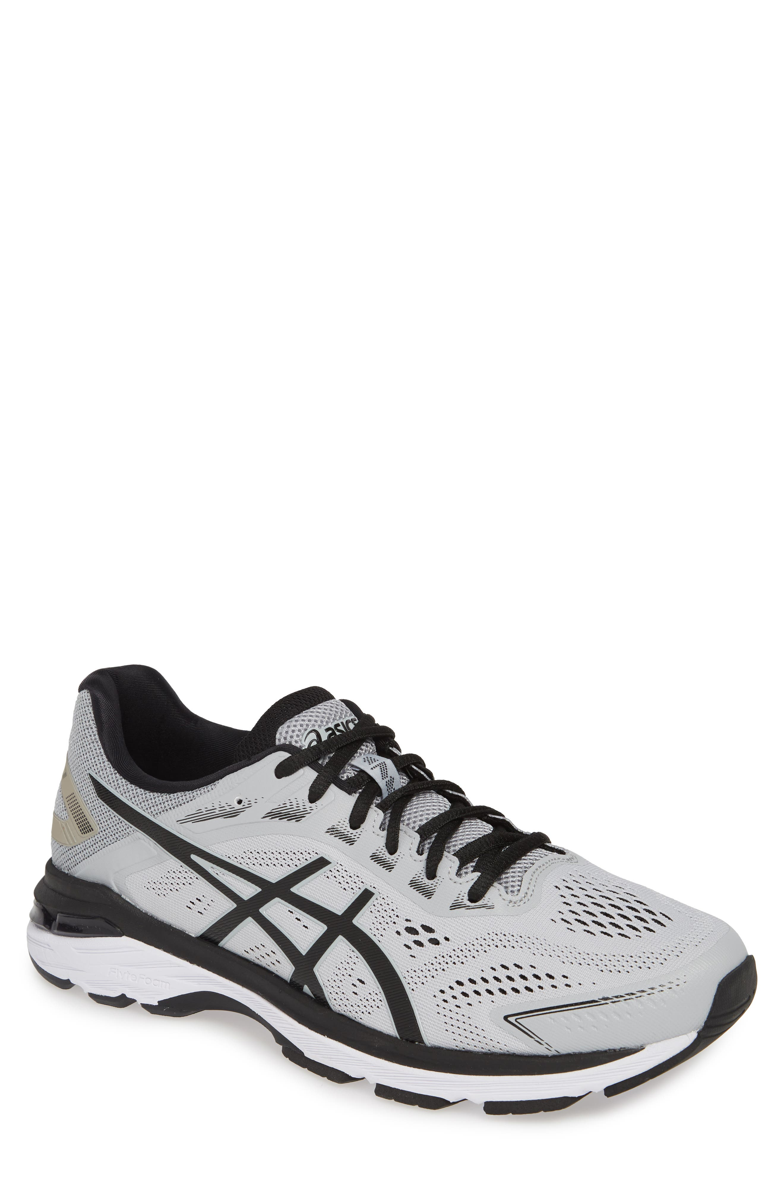GT-2000 7 Running Shoe, Main, color, MID GREY/ BLACK