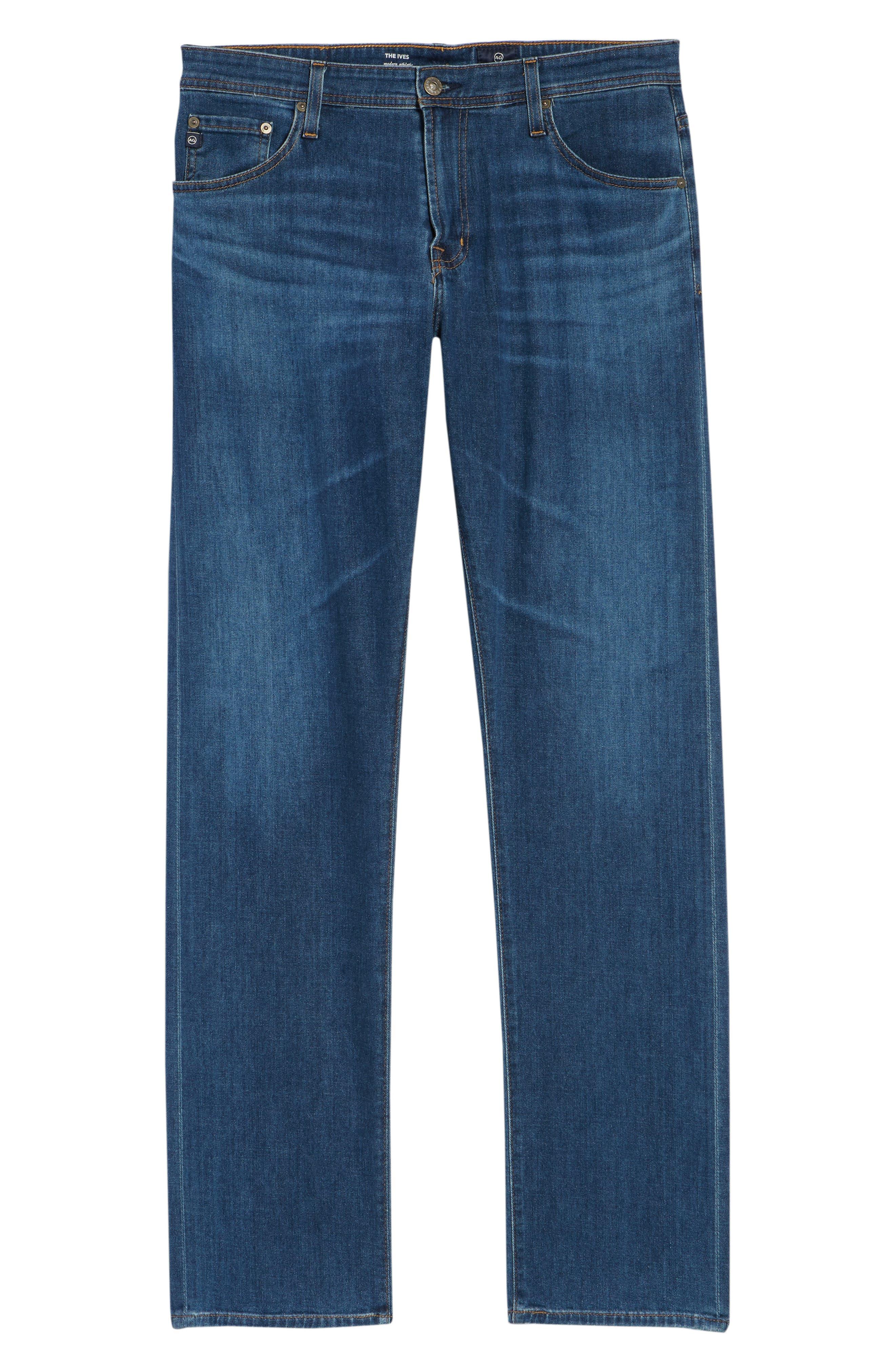 Ives Straight Leg Jeans,                             Alternate thumbnail 6, color,                             EDITION