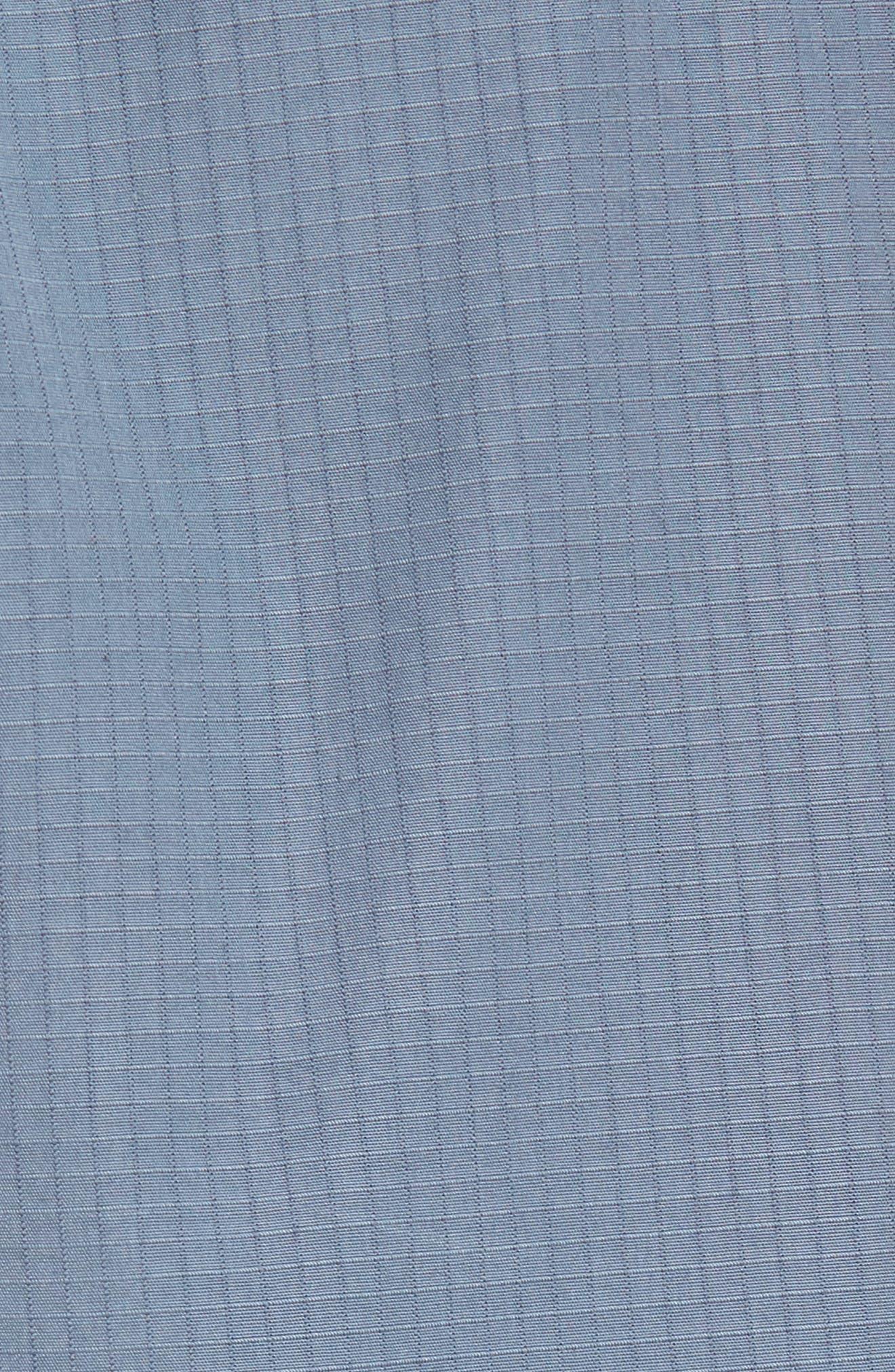 Passeo Cotton Shorts,                             Alternate thumbnail 5, color,                             GREY