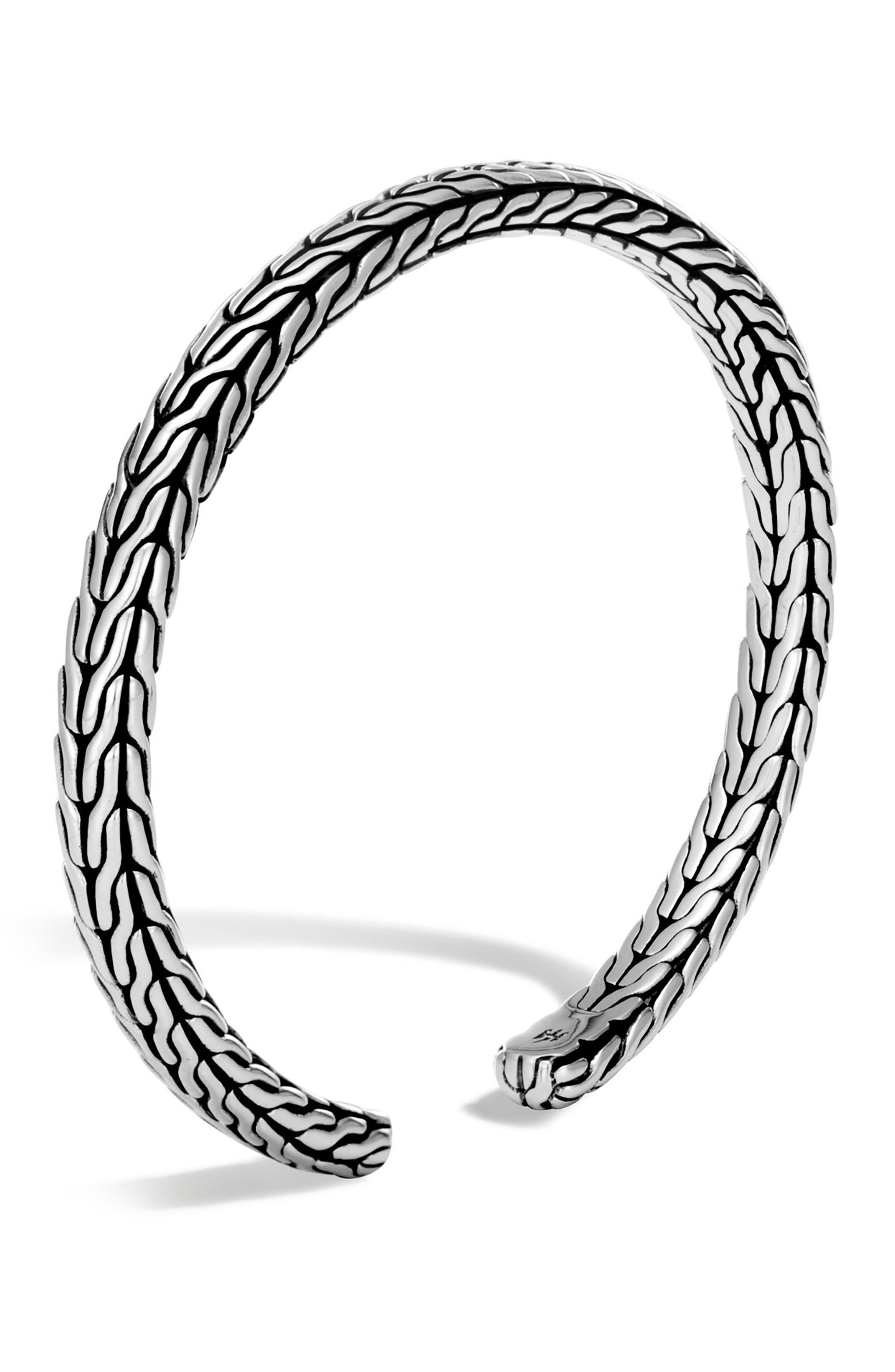 Classic Chain Slim Flex Cuff,                         Main,                         color, SILVER
