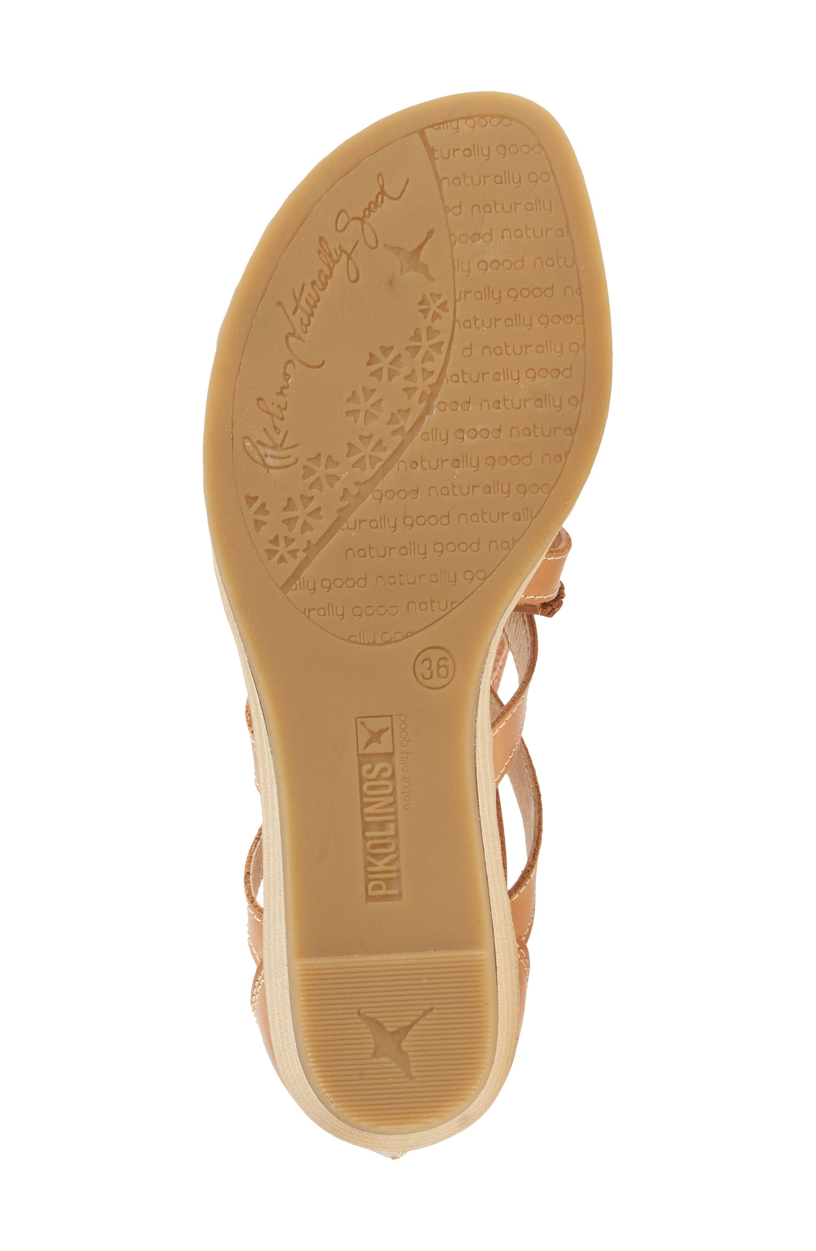 'Alcudia' Lace-Up Sandal,                             Alternate thumbnail 10, color,