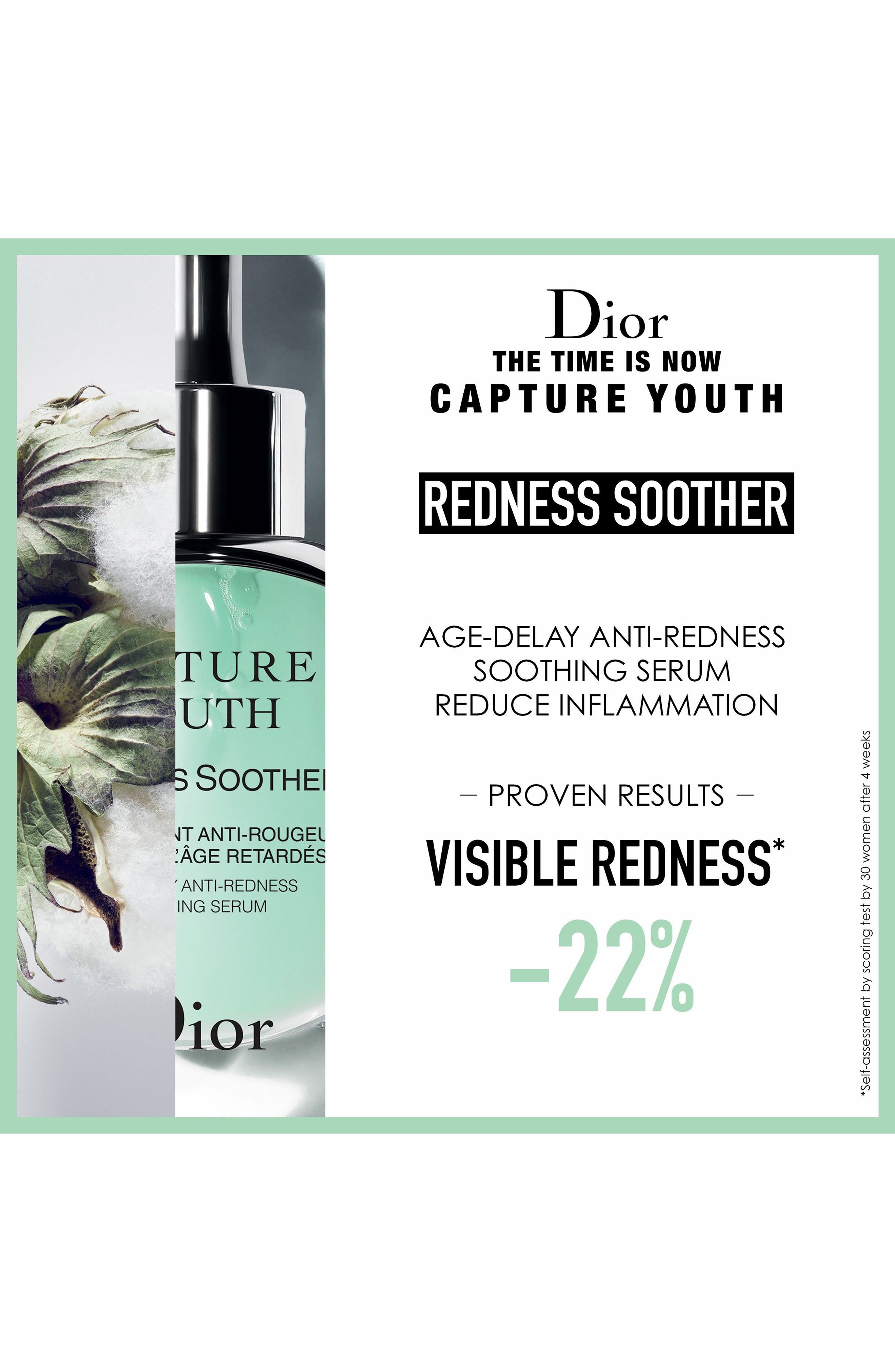 Capture Youth Redness Soother Age-Delay Anti-Redness Serum,                             Alternate thumbnail 4, color,                             NO COLOR