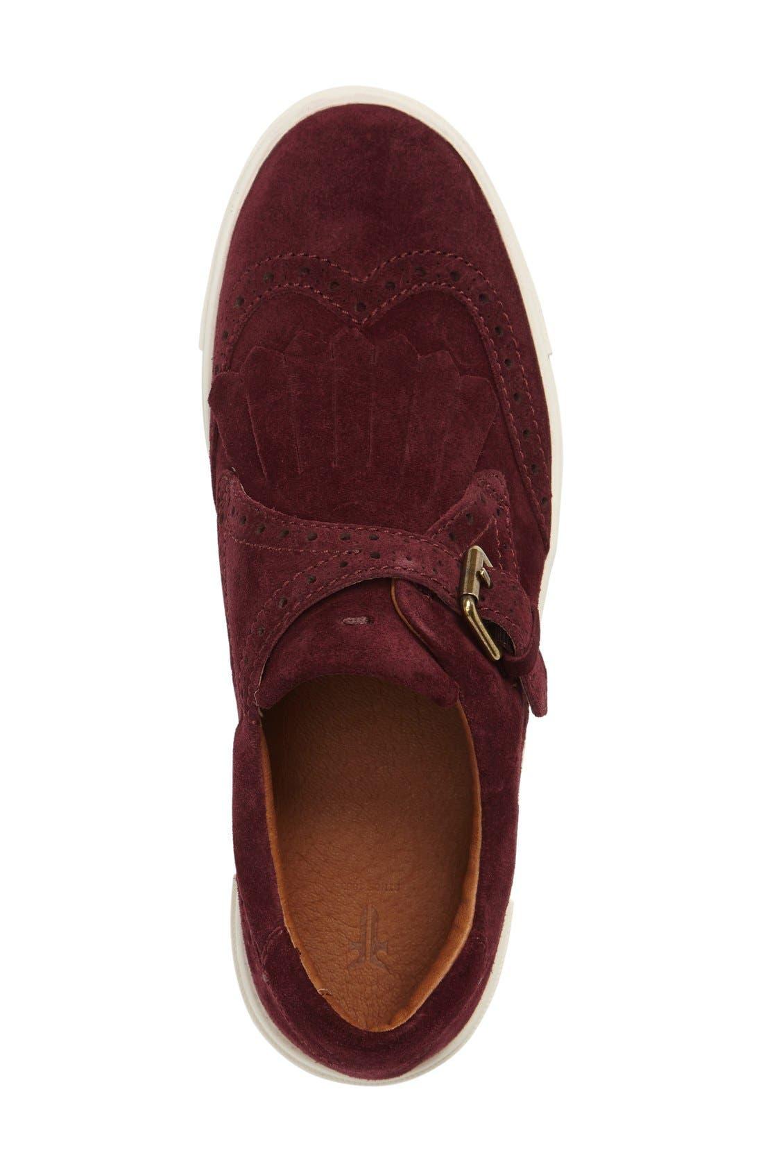 'Gemma' Kiltie Slip On-Sneaker,                             Alternate thumbnail 22, color,