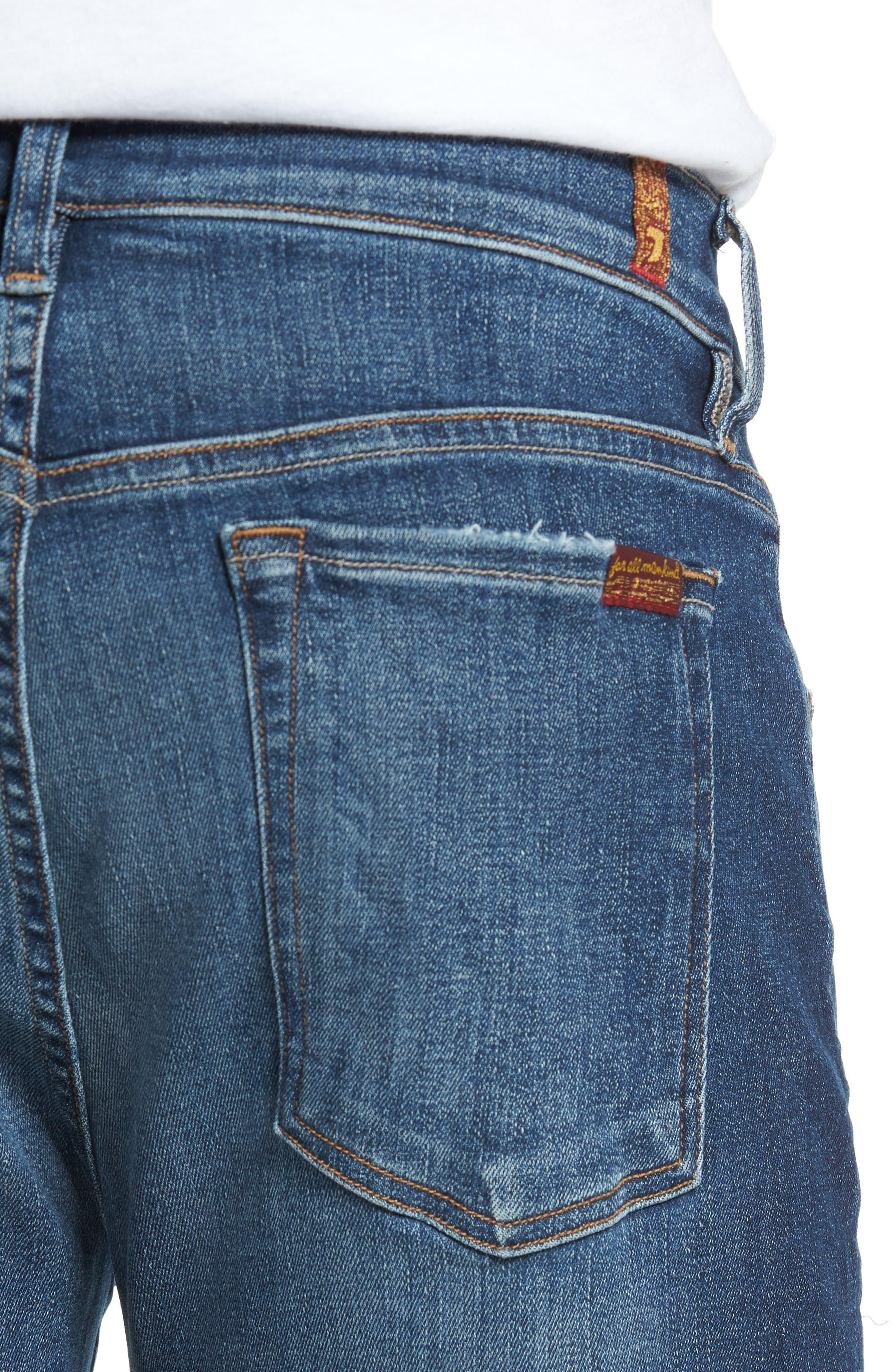 Adrien Slim Fit Jeans,                             Alternate thumbnail 4, color,                             402
