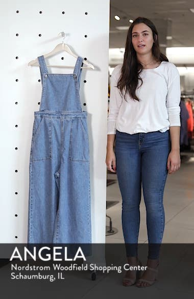 Wide Leg Crop Overalls, sales video thumbnail