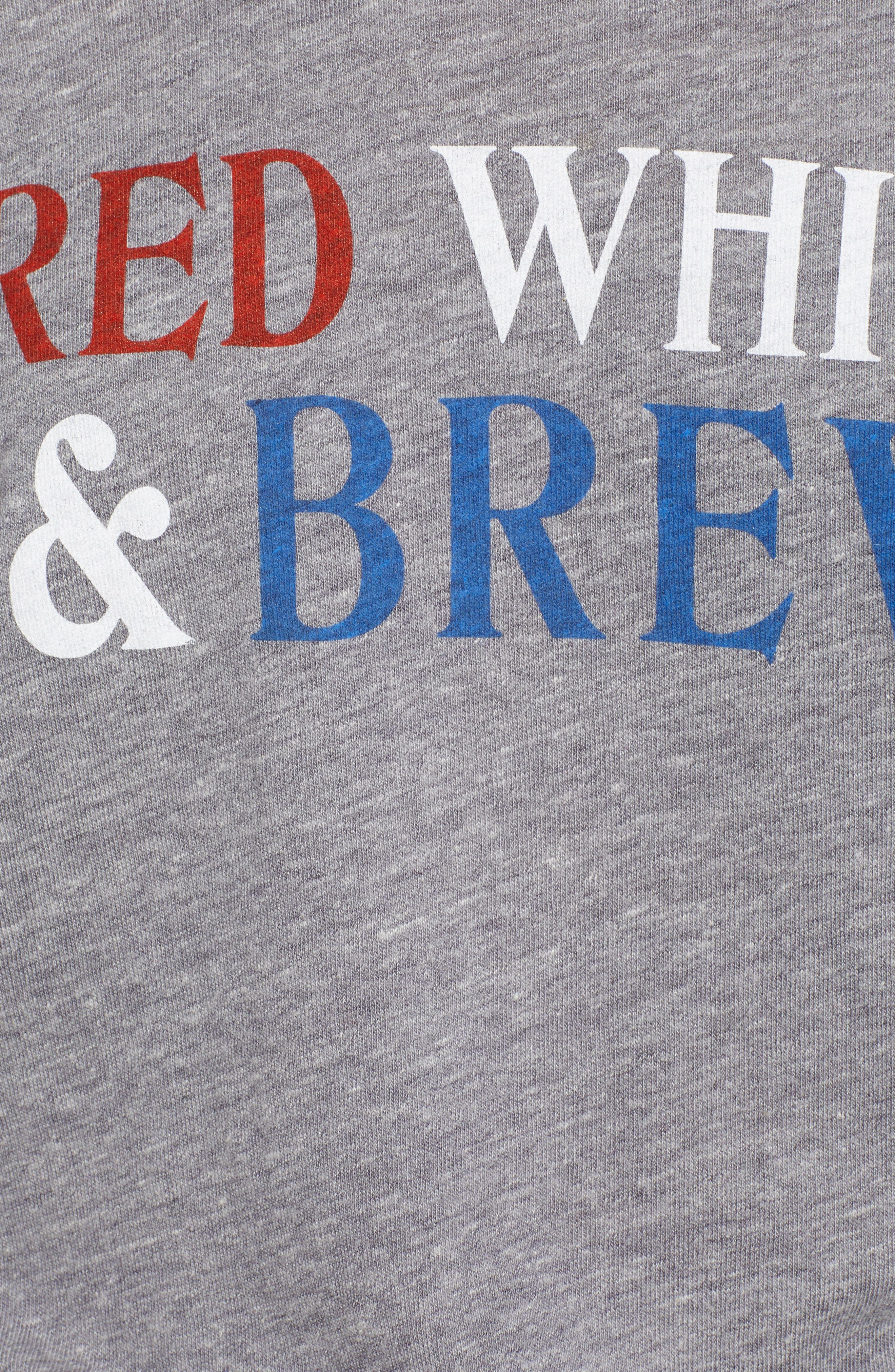 SUB_URBAN RIOT,                             Red, White & Brew Graphic Tee,                             Alternate thumbnail 5, color,                             020