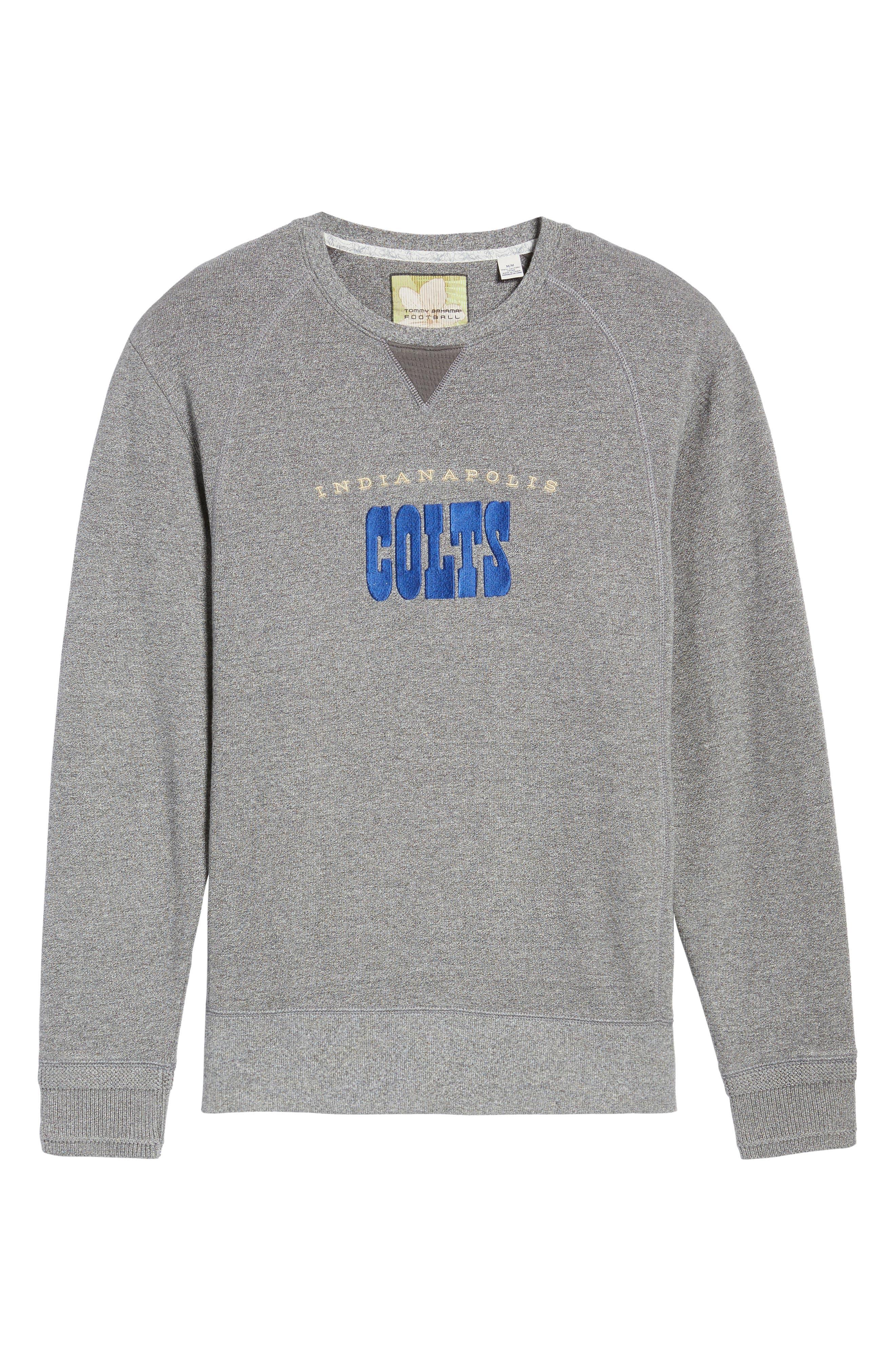 NFL Stitch of Liberty Embroidered Crewneck Sweatshirt,                             Alternate thumbnail 163, color,