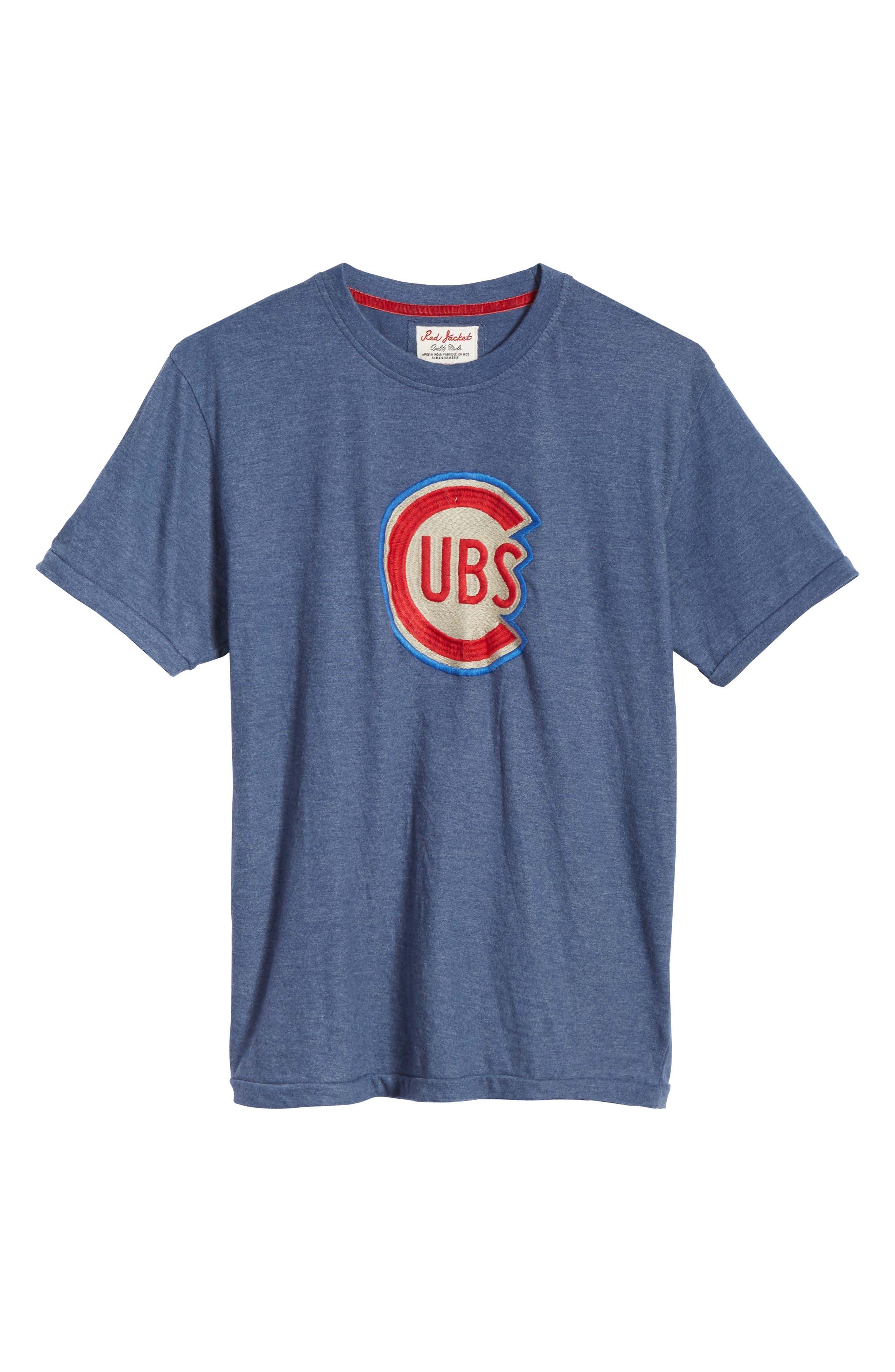 Hillwood Chicago Cubs T-Shirt,                             Alternate thumbnail 6, color,                             422