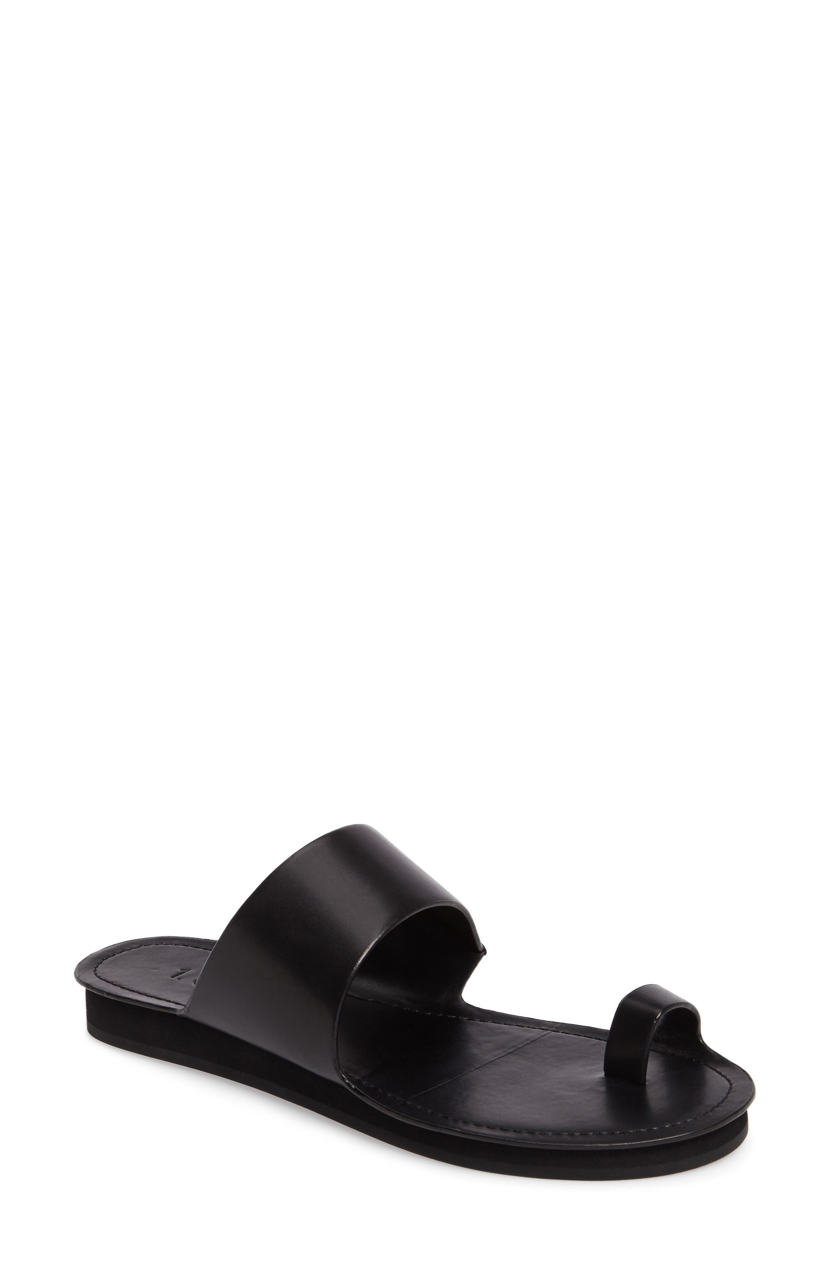Dilan Toe Loop Sandal,                         Main,                         color, 001