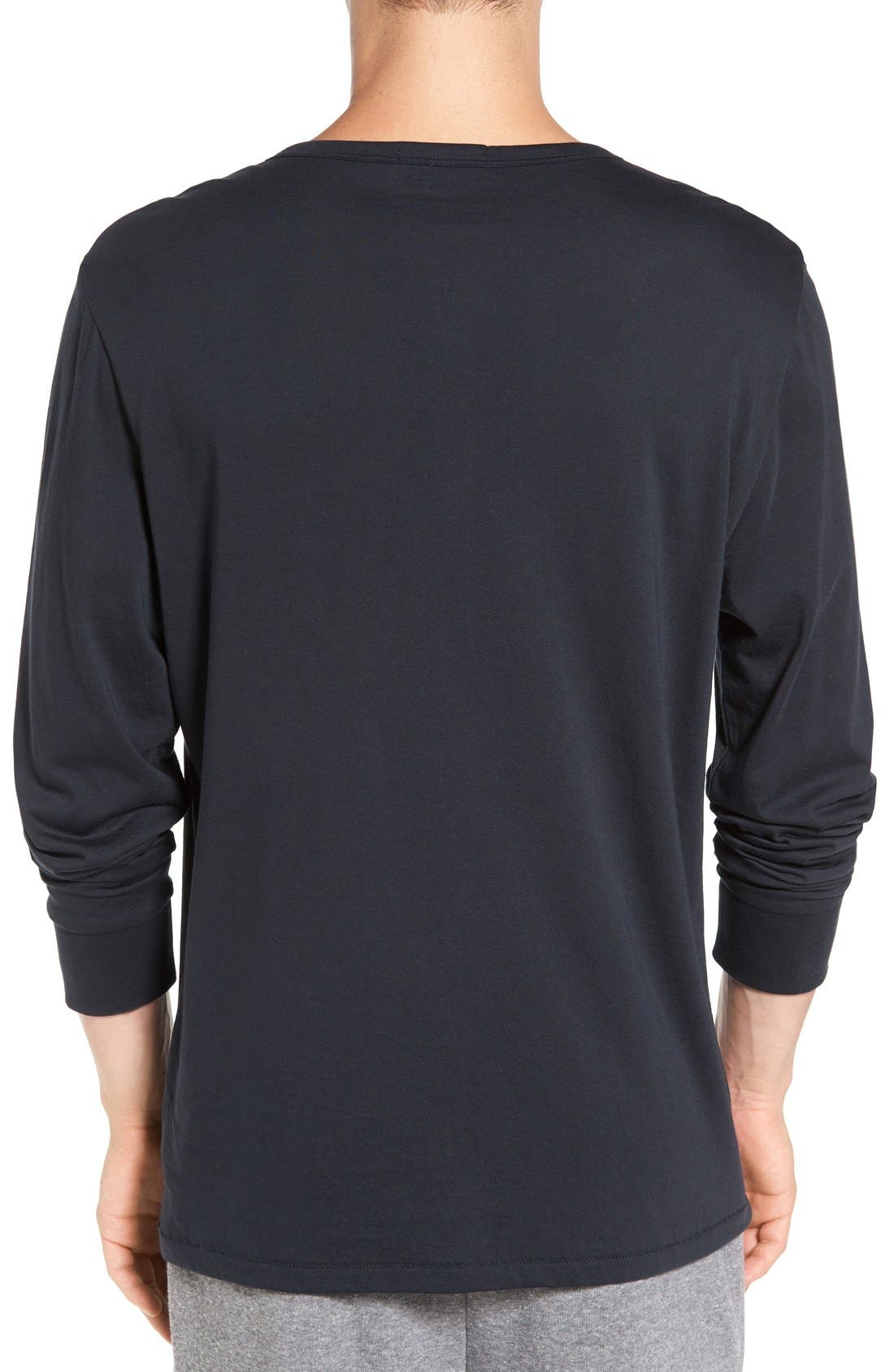 Classic Henley,                             Alternate thumbnail 2, color,                             001