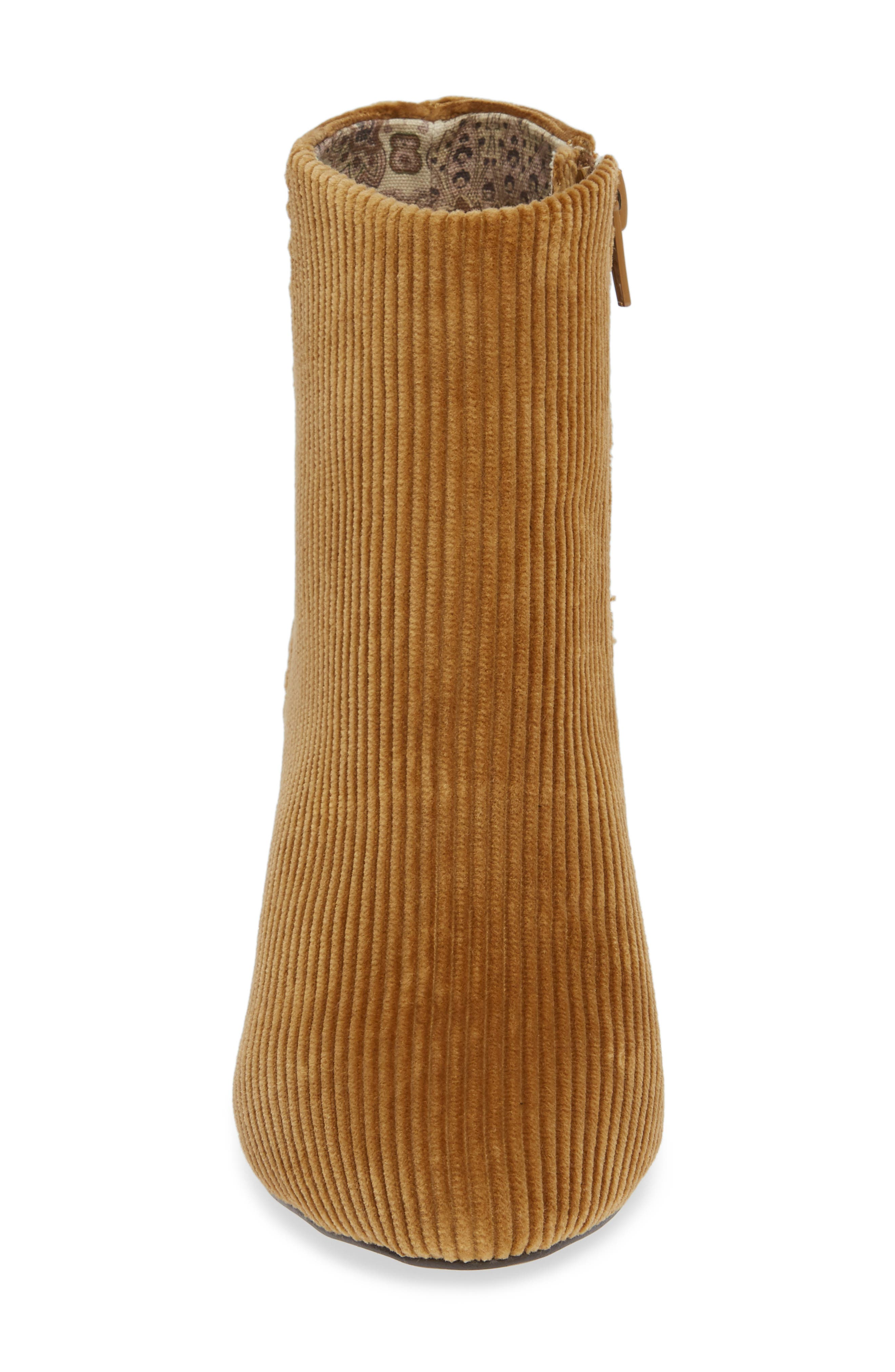 Andrea Bootie,                             Alternate thumbnail 4, color,                             TAN CORDUROY
