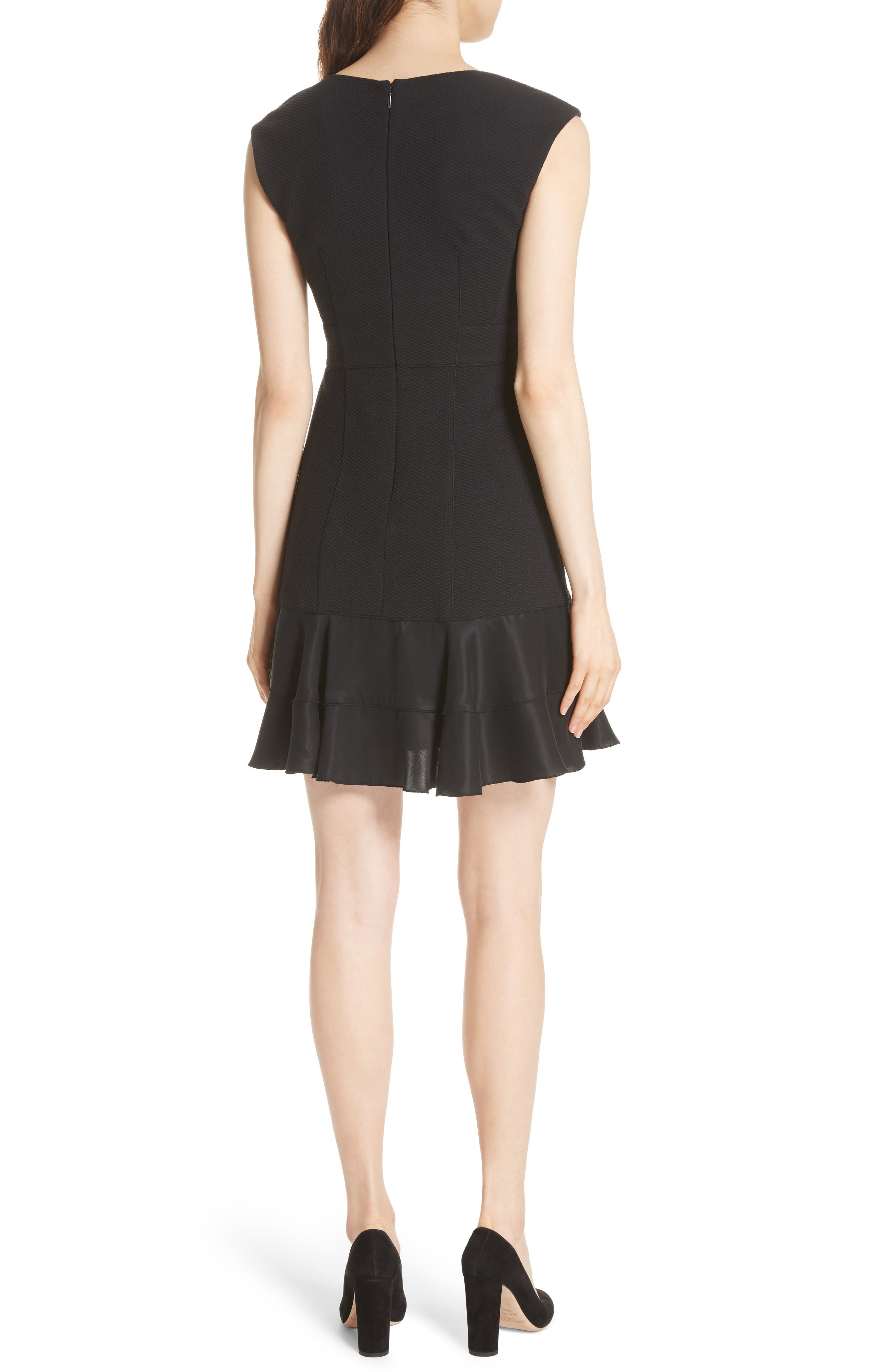 Terri Dress,                             Alternate thumbnail 2, color,                             BLACK