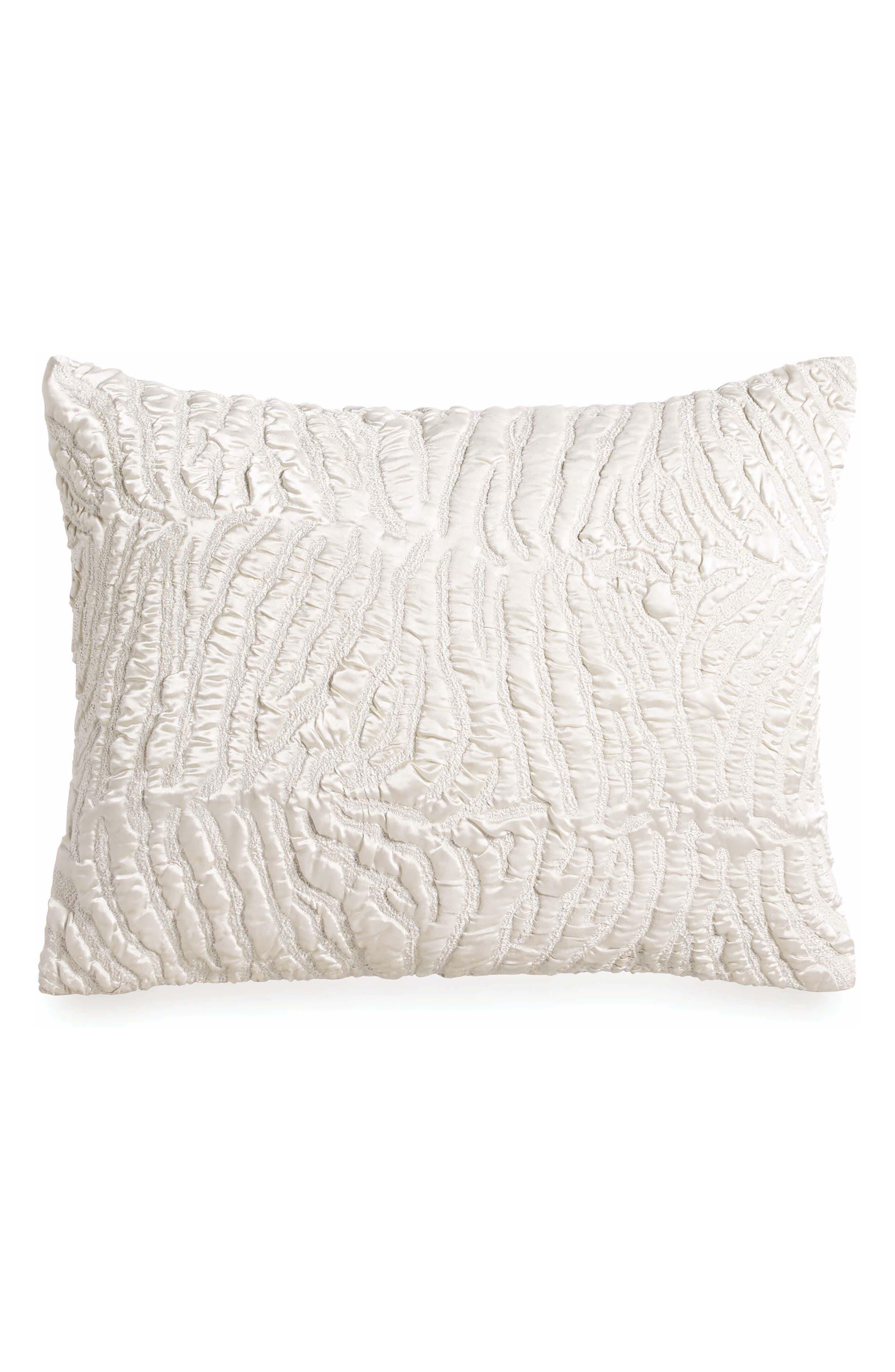 Opal Essence Pillow,                             Main thumbnail 1, color,                             IVORY