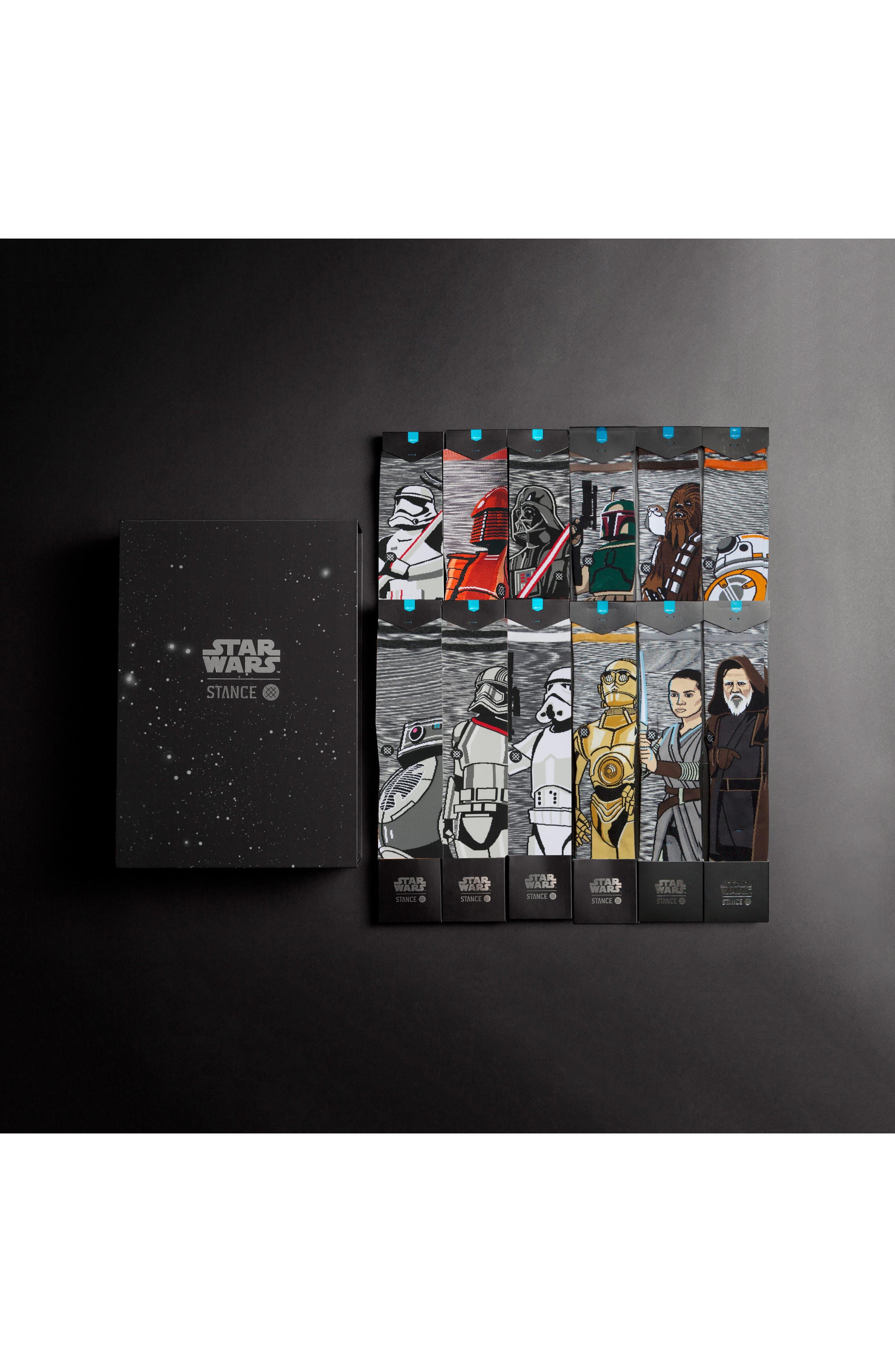 """""""Star Wars<sup>™</sup>"""" 13-Pack Socks Box Set,                             Main thumbnail 1, color,                             960"""