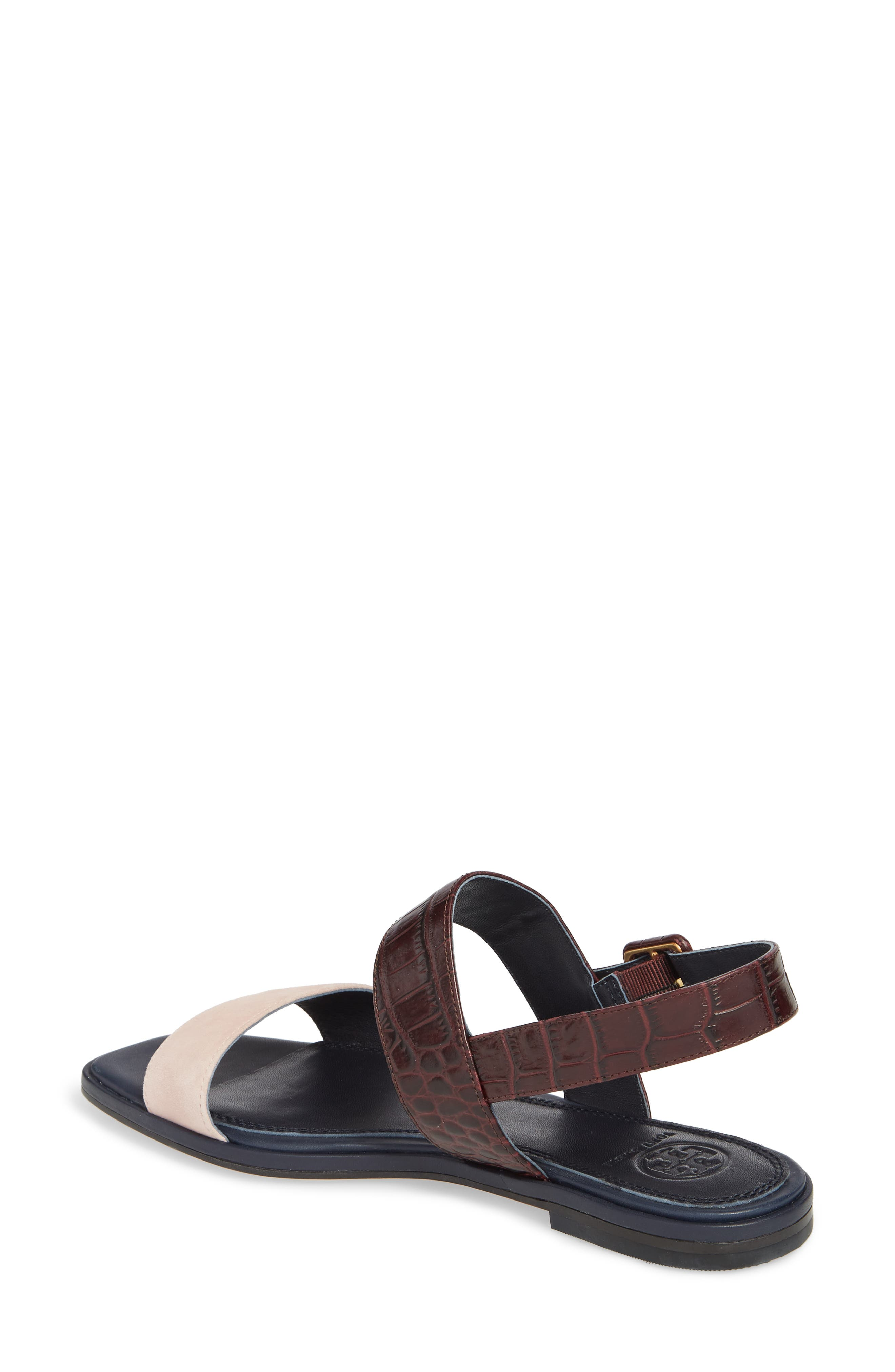 Delaney Double Strap Sandal,                             Alternate thumbnail 11, color,