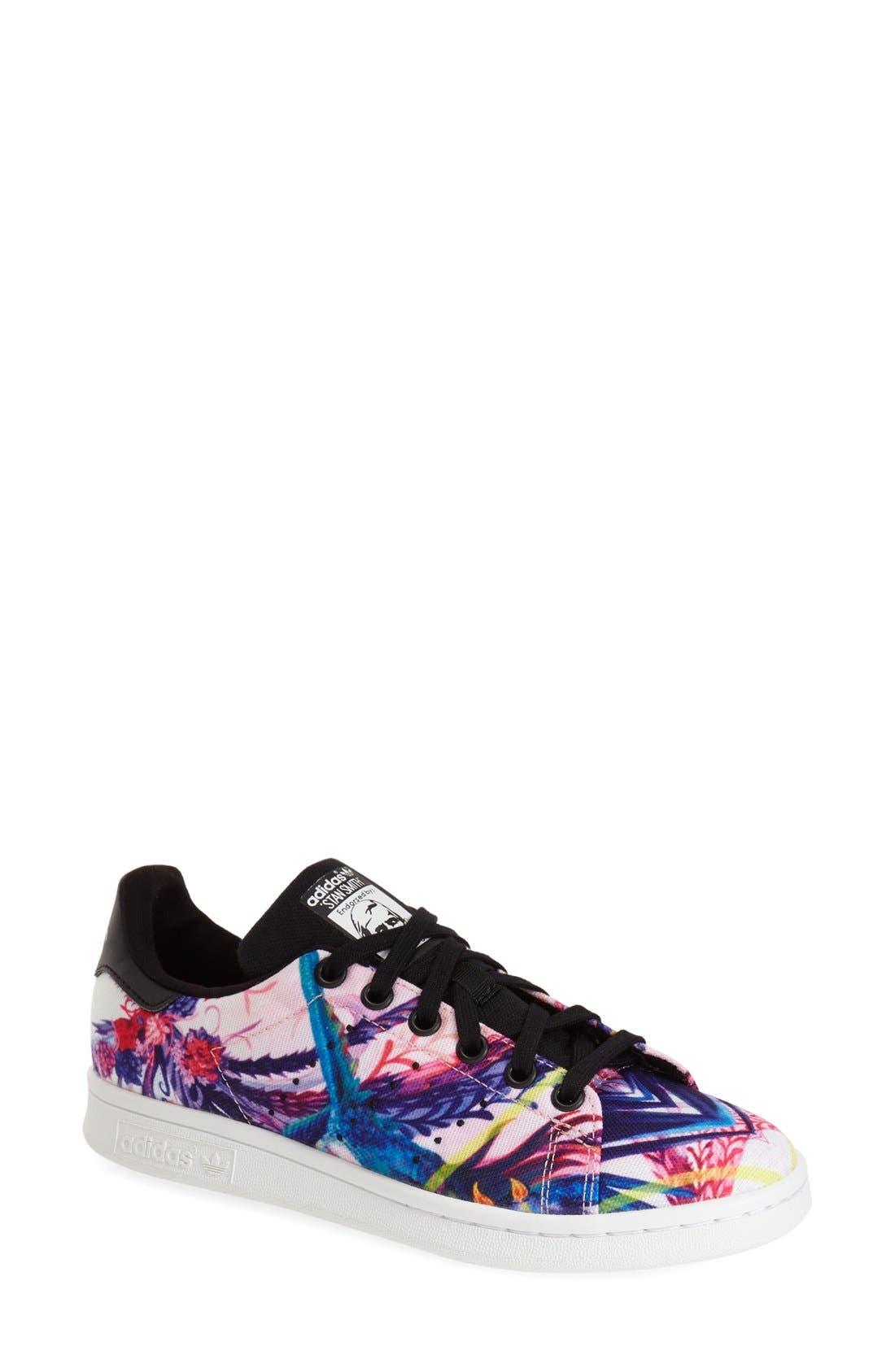 'Stan Smith' Sneaker,                             Main thumbnail 4, color,