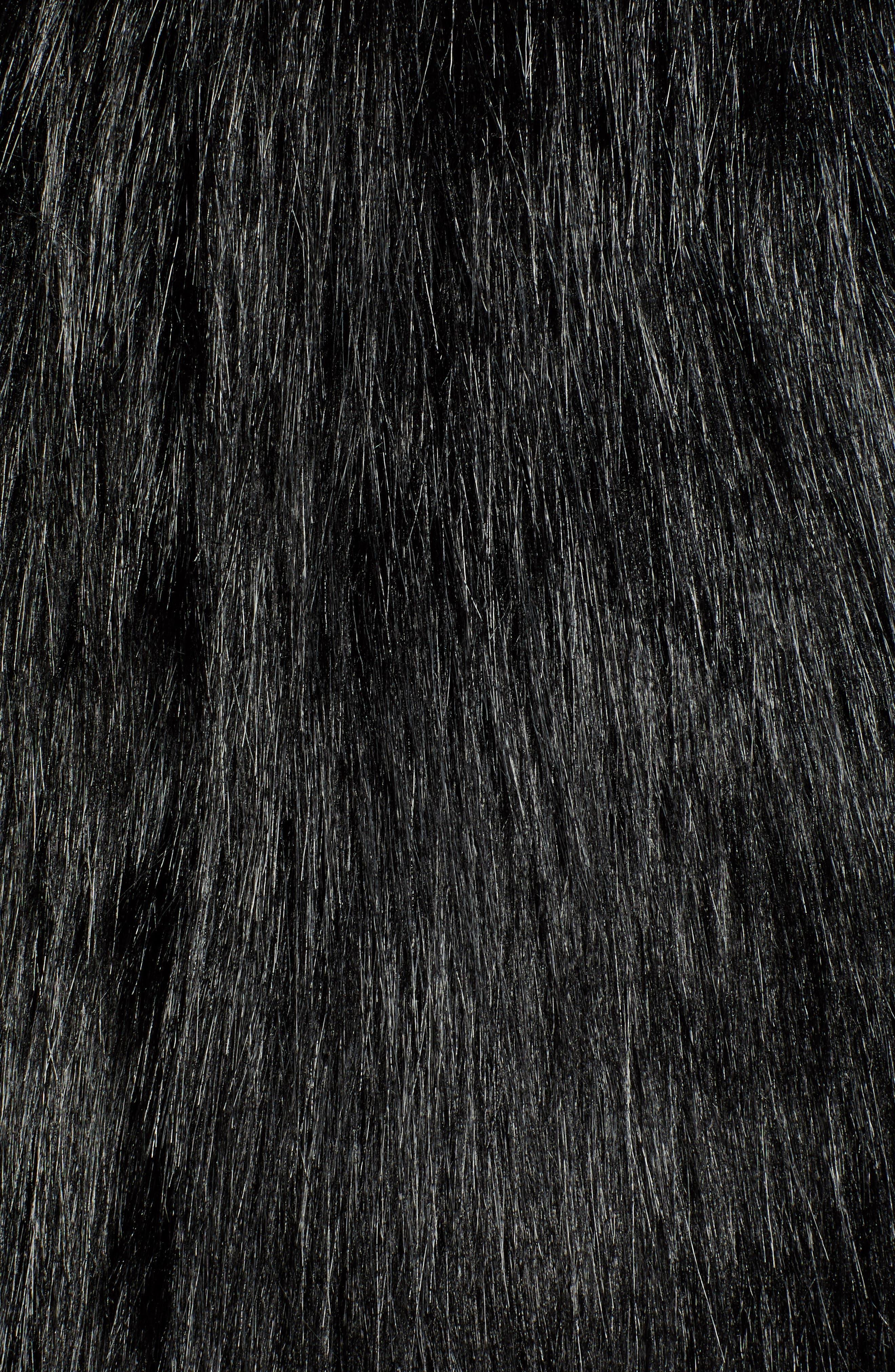 CHAUS,                             Faux Fur Vest,                             Alternate thumbnail 7, color,                             011