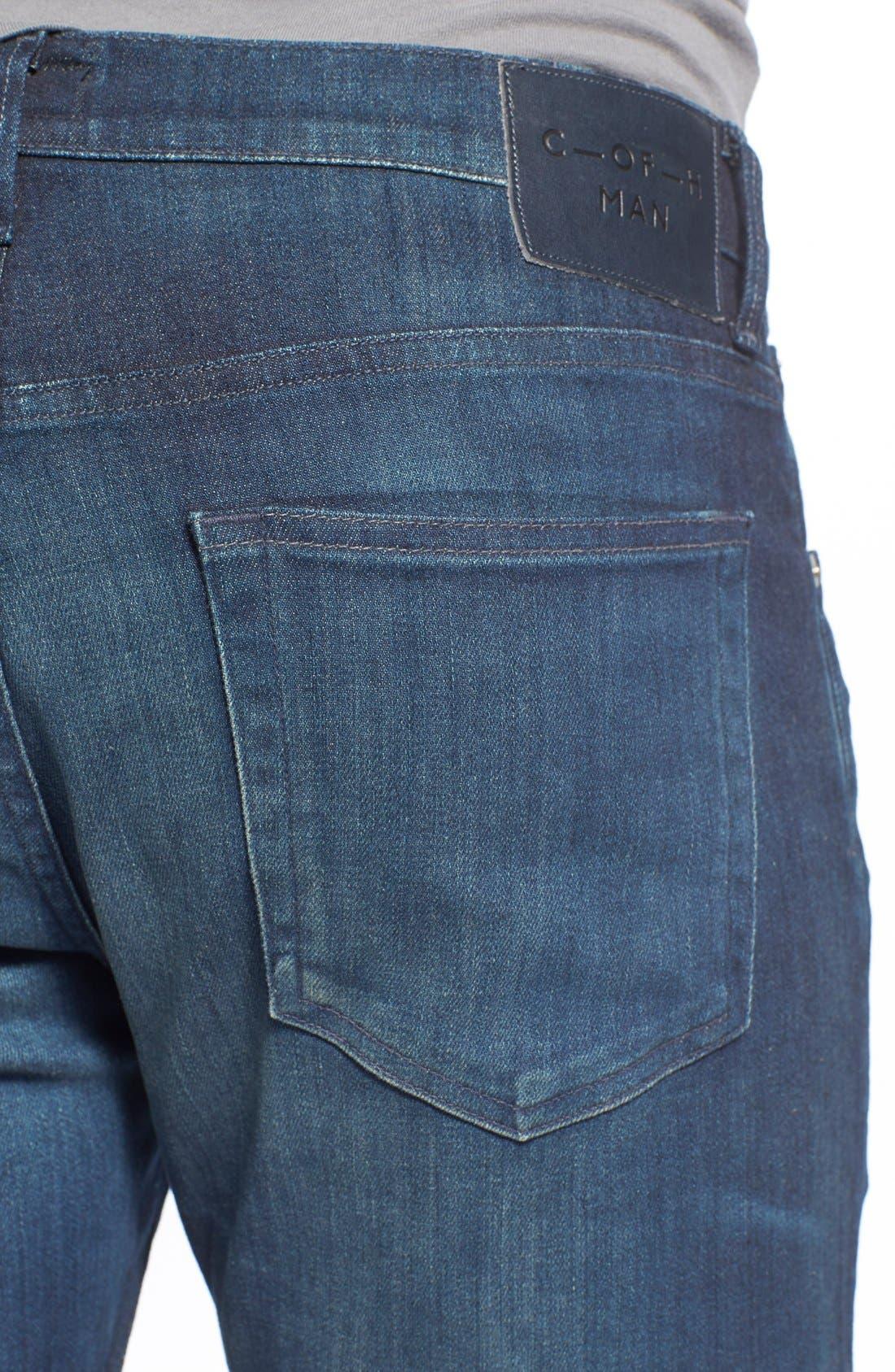 'Sid Classic' Straight Leg Jeans,                             Alternate thumbnail 9, color,                             473