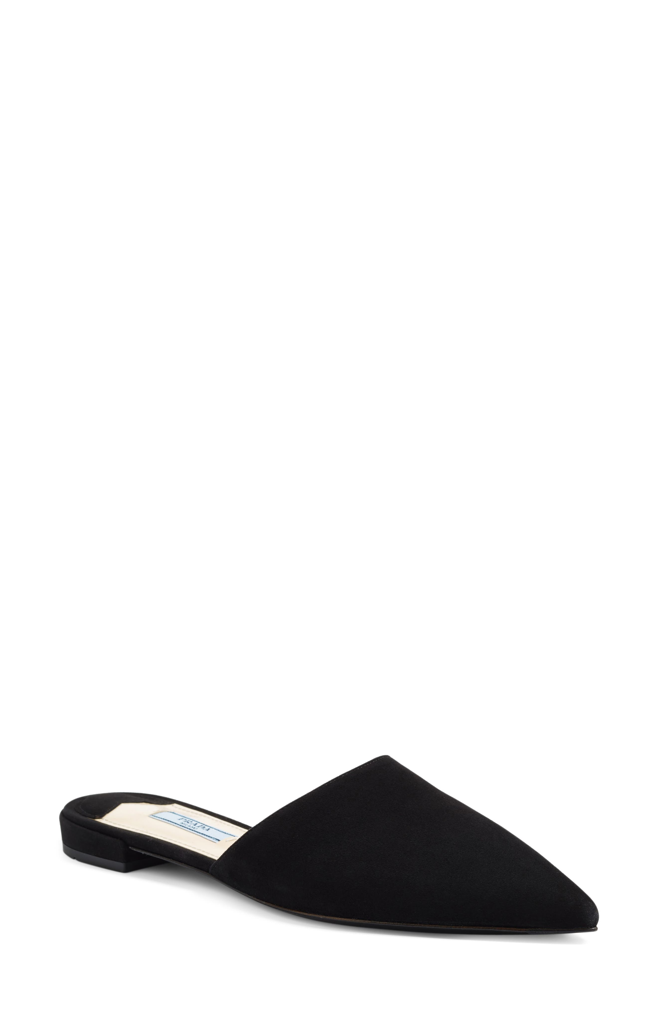 Pointy Toe Mule,                         Main,                         color, 001