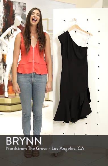 Mirrors One-Shoulder Asymmetrical Dress, sales video thumbnail