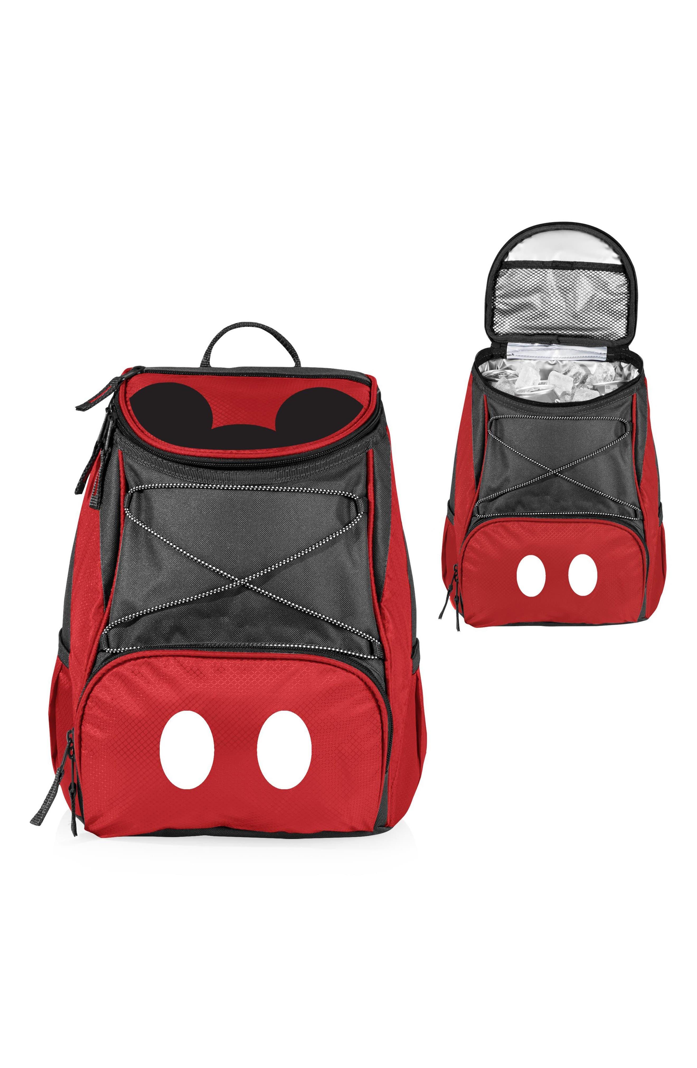 PTX - Disney Water Resistant Backpack Cooler,                             Alternate thumbnail 3, color,                             RED