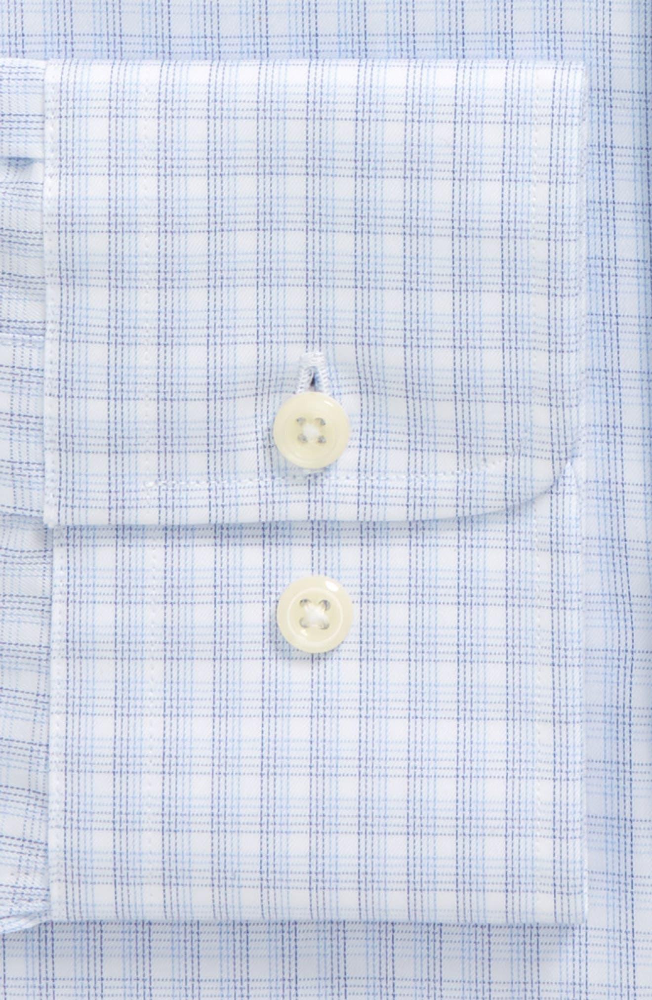Slim Fit Plaid Dress Shirt,                             Alternate thumbnail 2, color,                             423