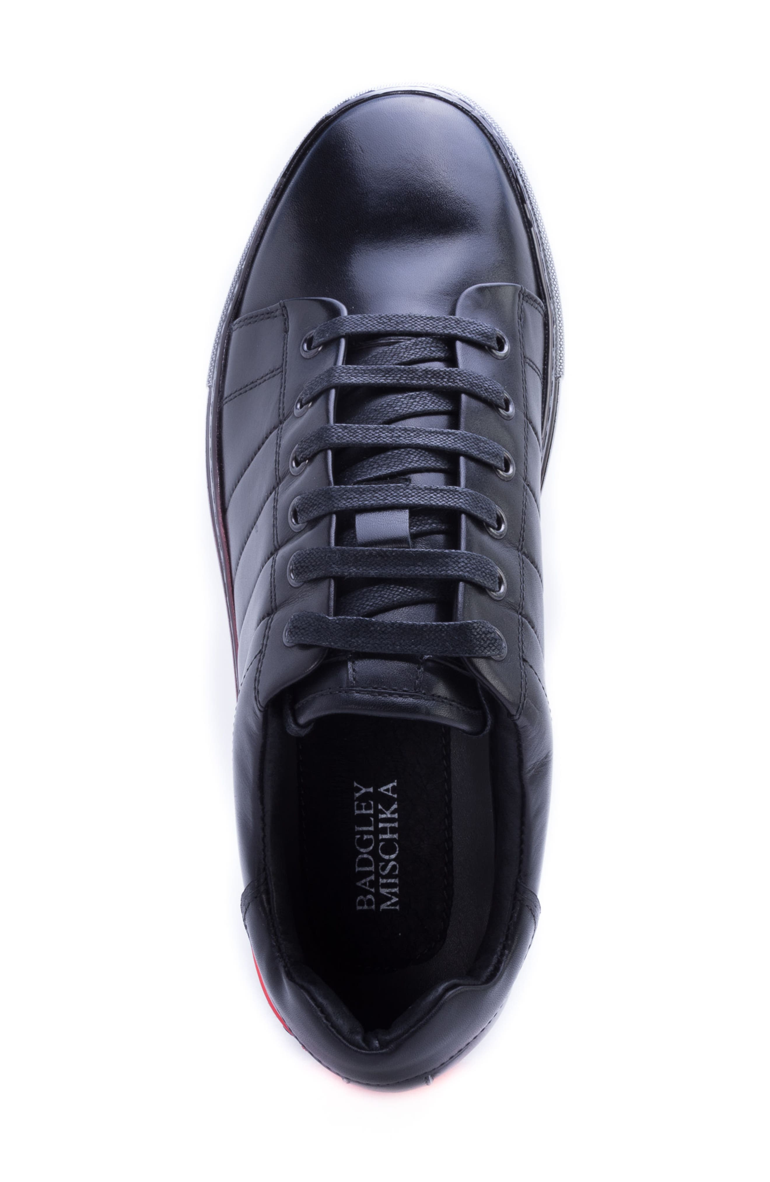 Badgley Mischka Duvall Sneaker,                             Alternate thumbnail 5, color,                             001