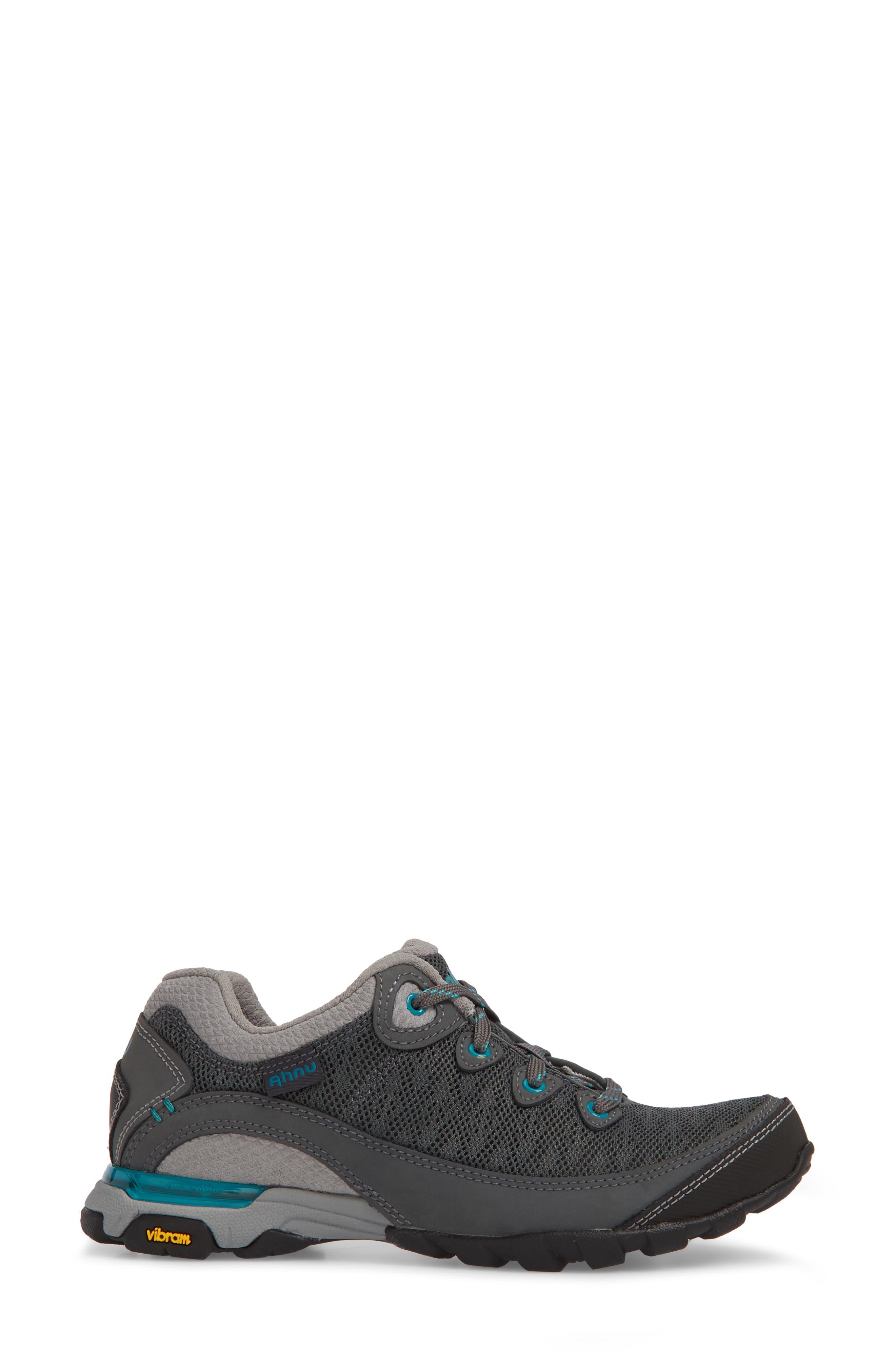 Ahnu by Teva Sugarpine II Air Mesh Hiking Waterproof Sneaker,                             Alternate thumbnail 3, color,                             025