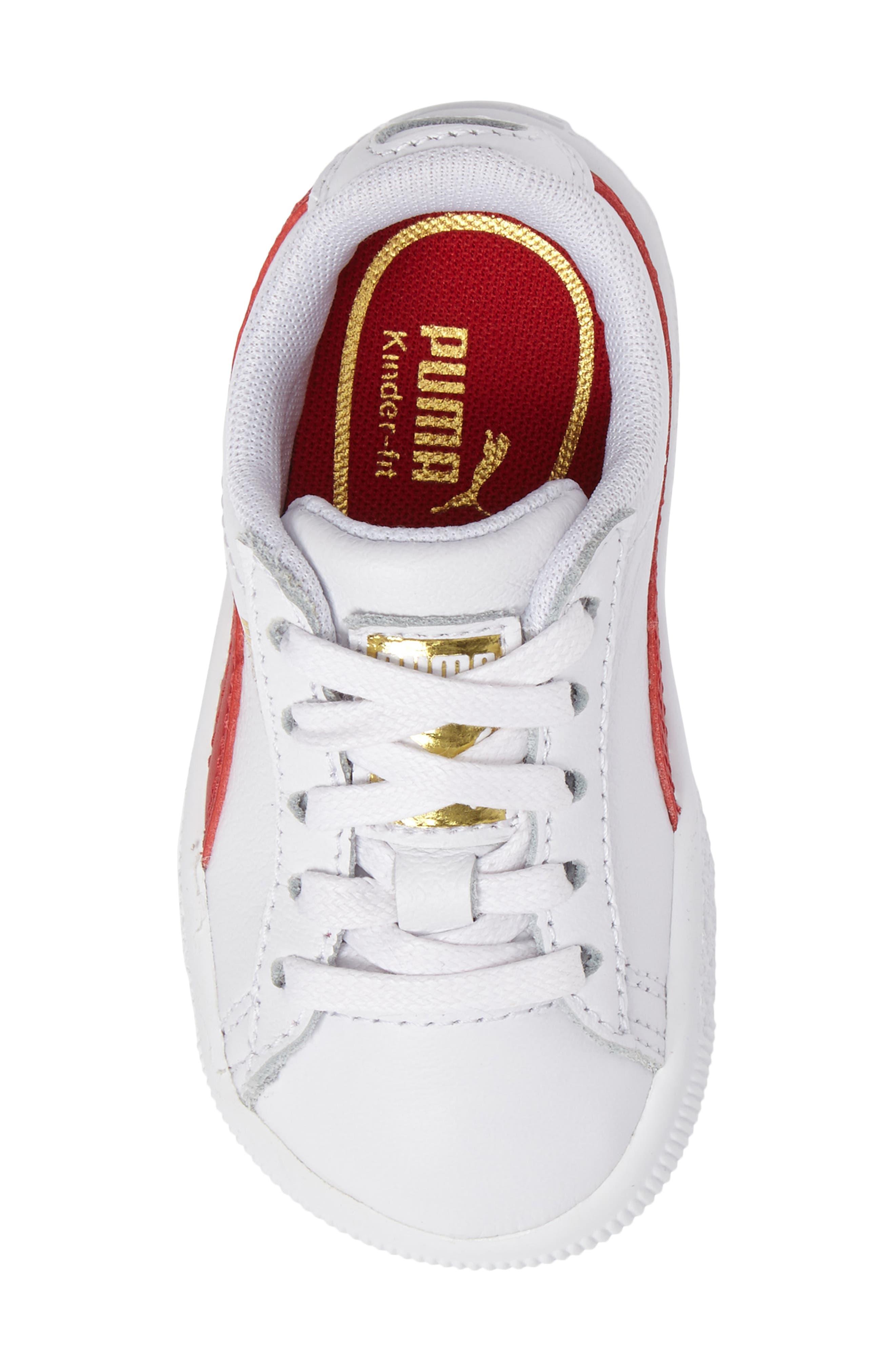 Clyde Core Foil Sneaker,                             Alternate thumbnail 30, color,