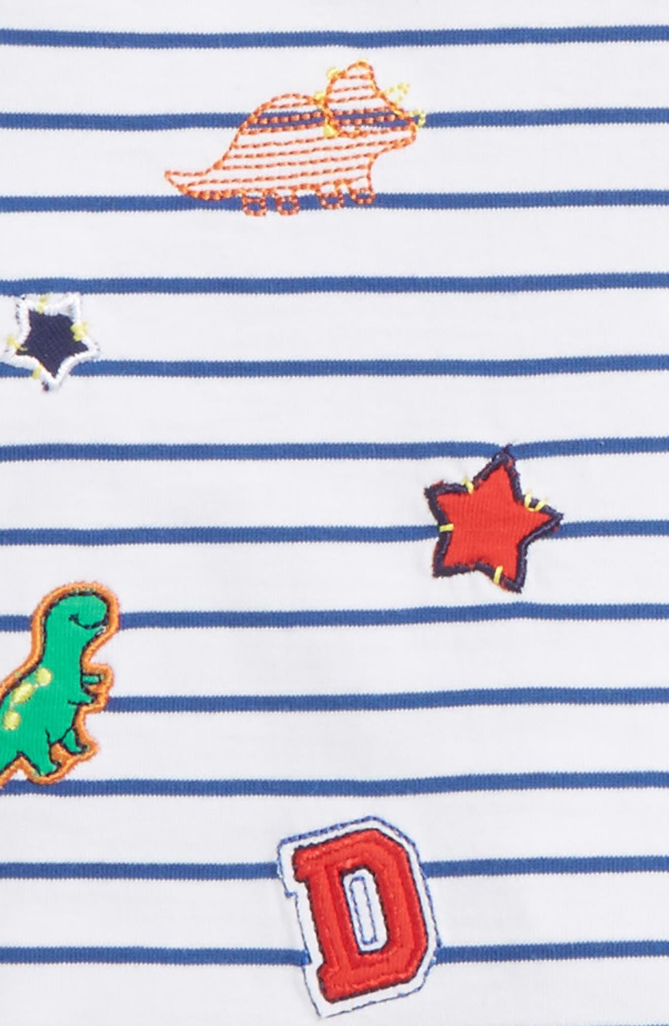 Patch T-Shirt, Jogger Pants & Socks Set,                             Alternate thumbnail 2, color,
