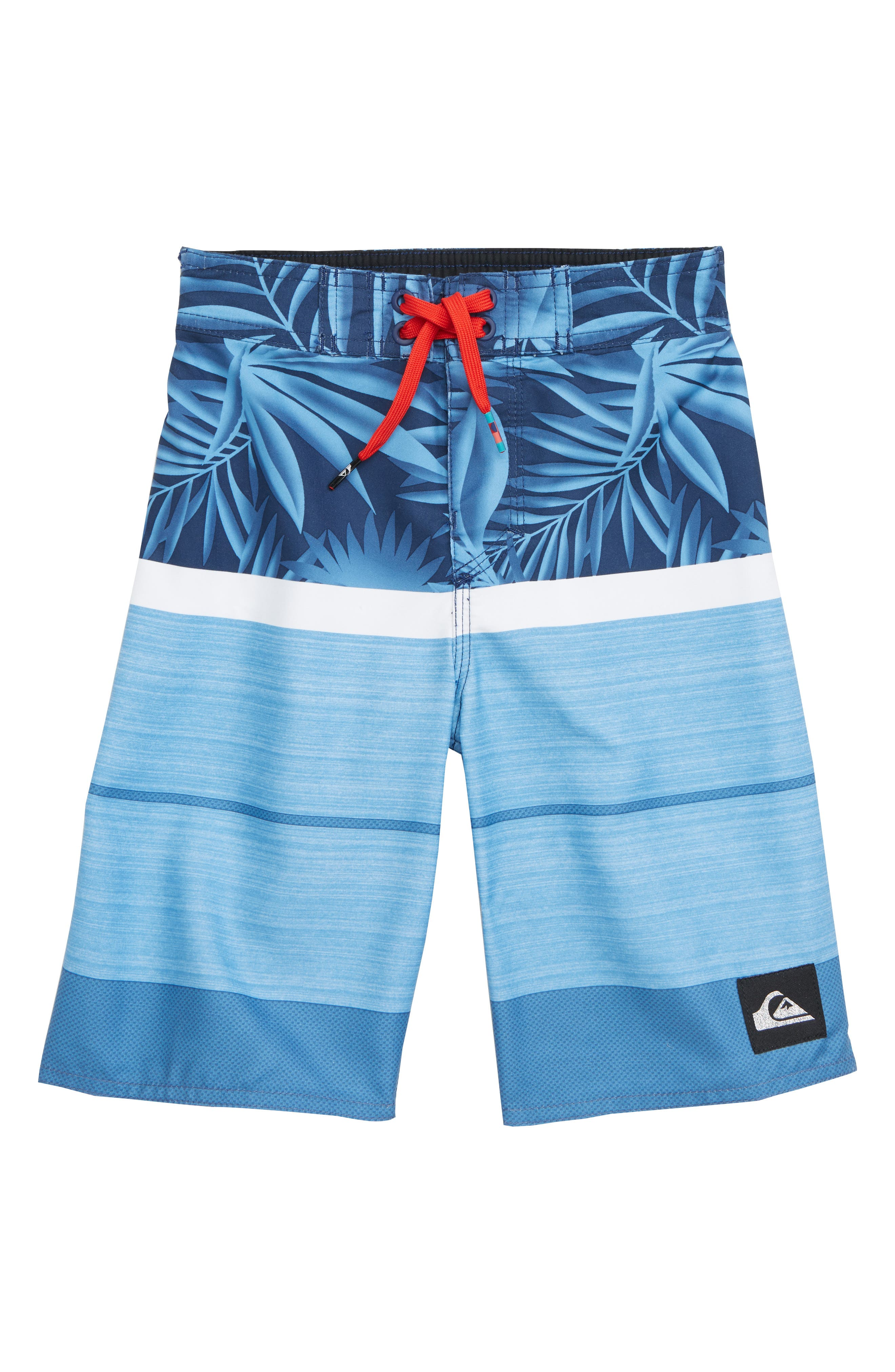 Slab Island Board Shorts,                         Main,                         color, MEDIEVEL BLUE
