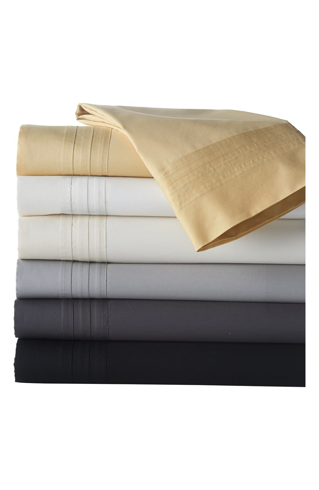 Donna Karan Collection 510 Thread Count Flat Sheet,                             Alternate thumbnail 2, color,                             004