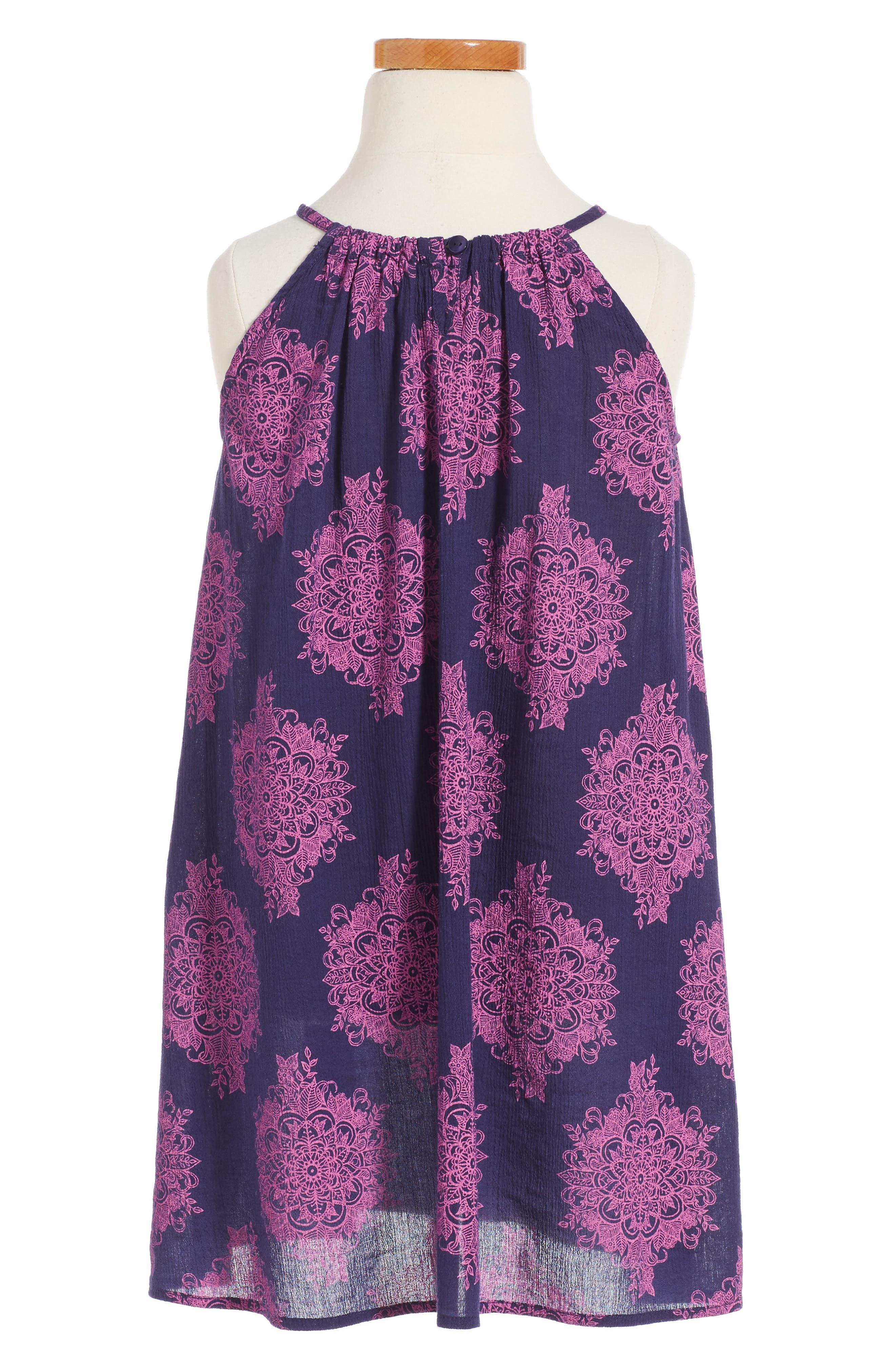 Swing Dress,                         Main,                         color, 410