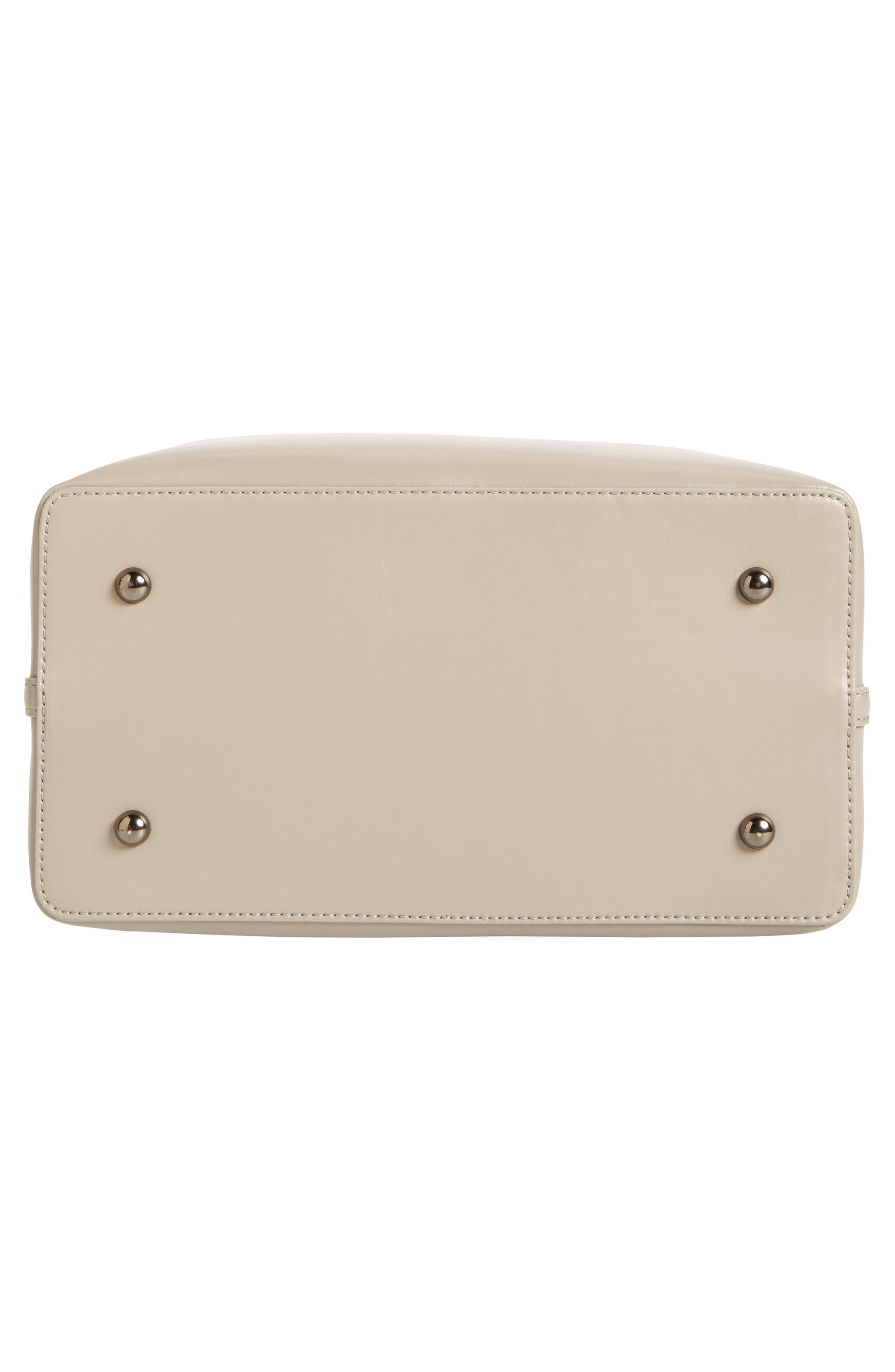 Raisin Leather Handbag,                             Alternate thumbnail 43, color,