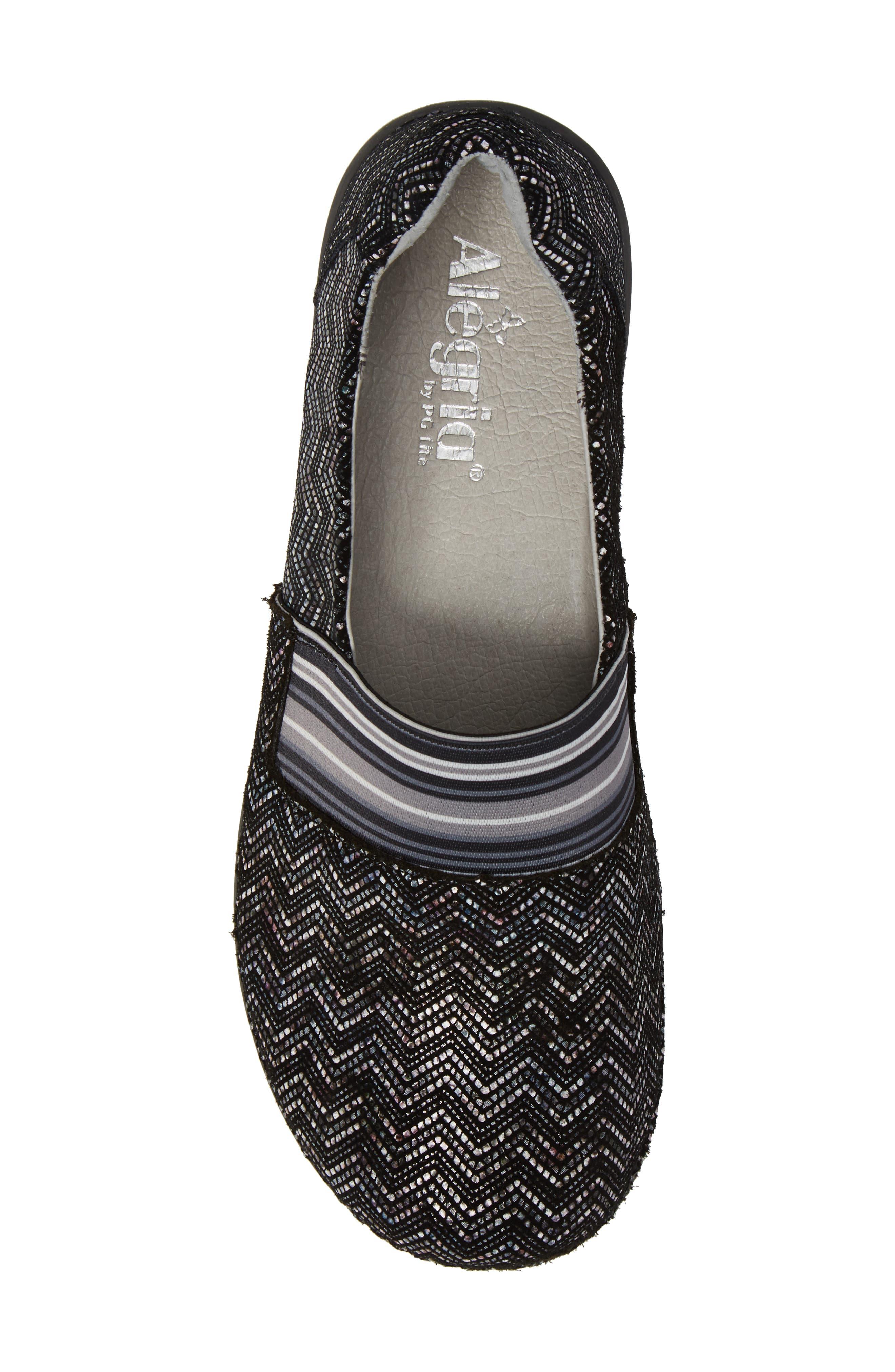 Glee Slip-On Sneaker,                             Alternate thumbnail 5, color,                             001