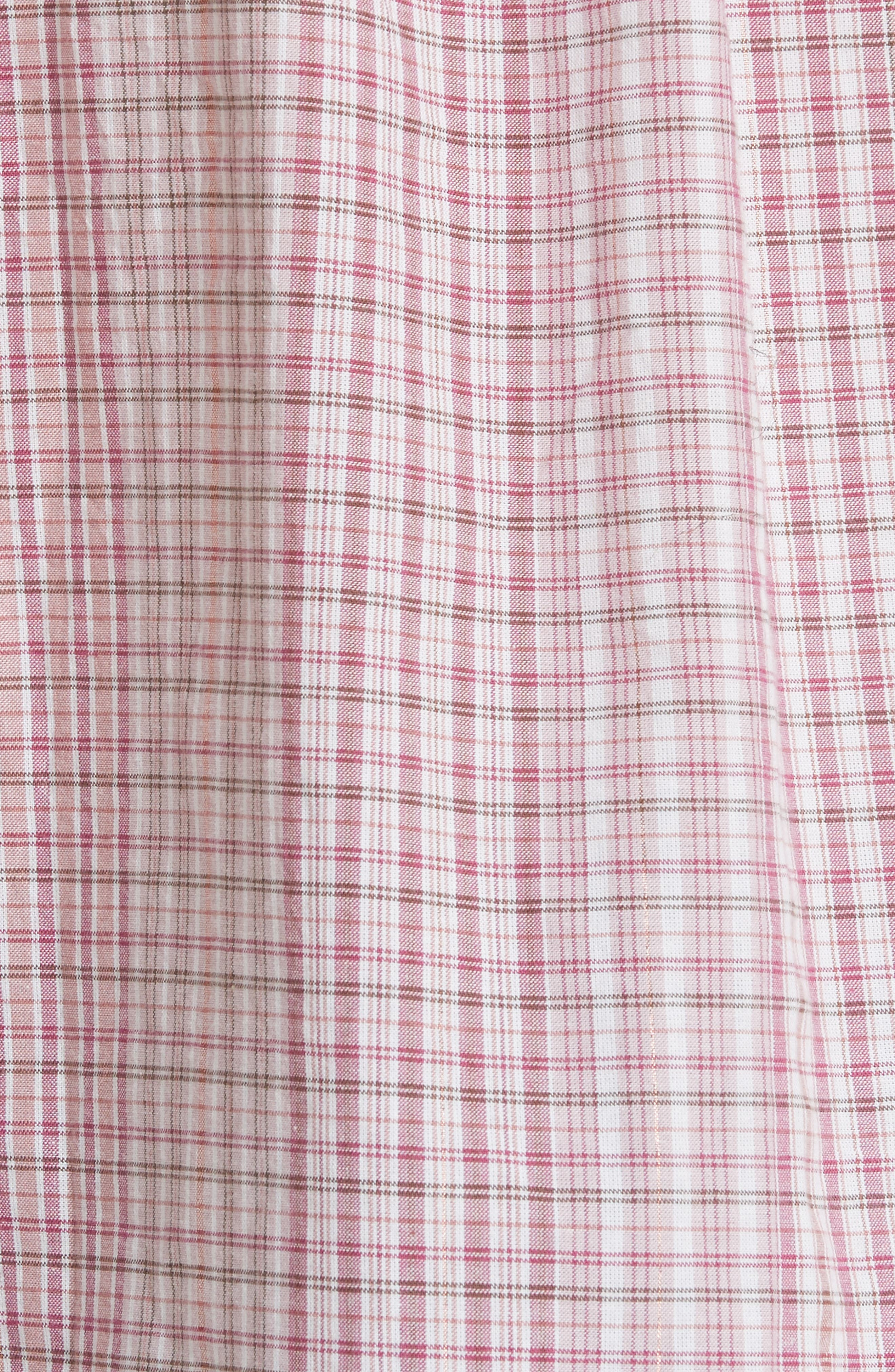 Lurex<sup>®</sup> Plaid Top,                             Alternate thumbnail 5, color,