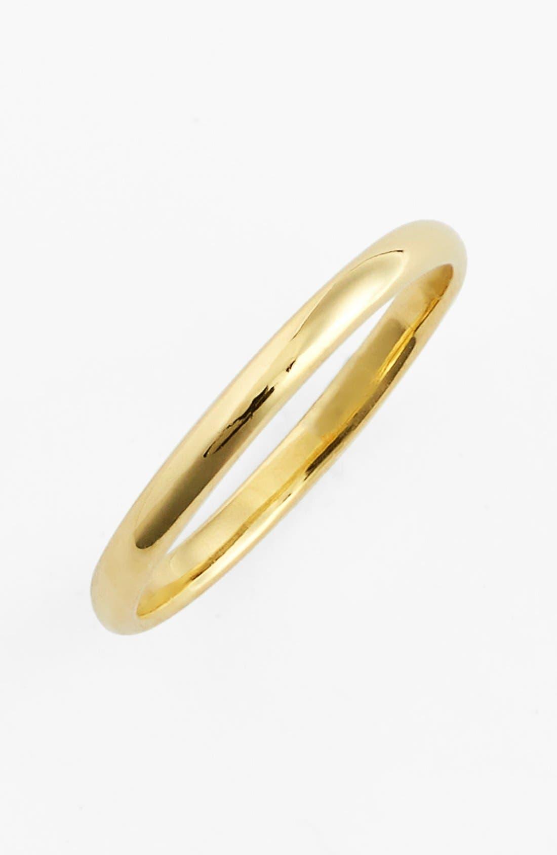 14k Gold Midi Ring,                         Main,                         color,