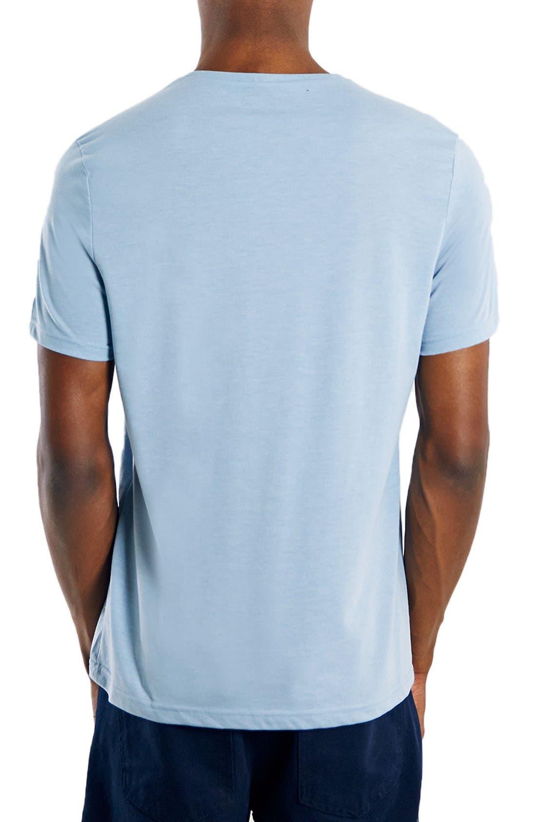 Slim Fit Crewneck T-Shirt,                             Alternate thumbnail 352, color,