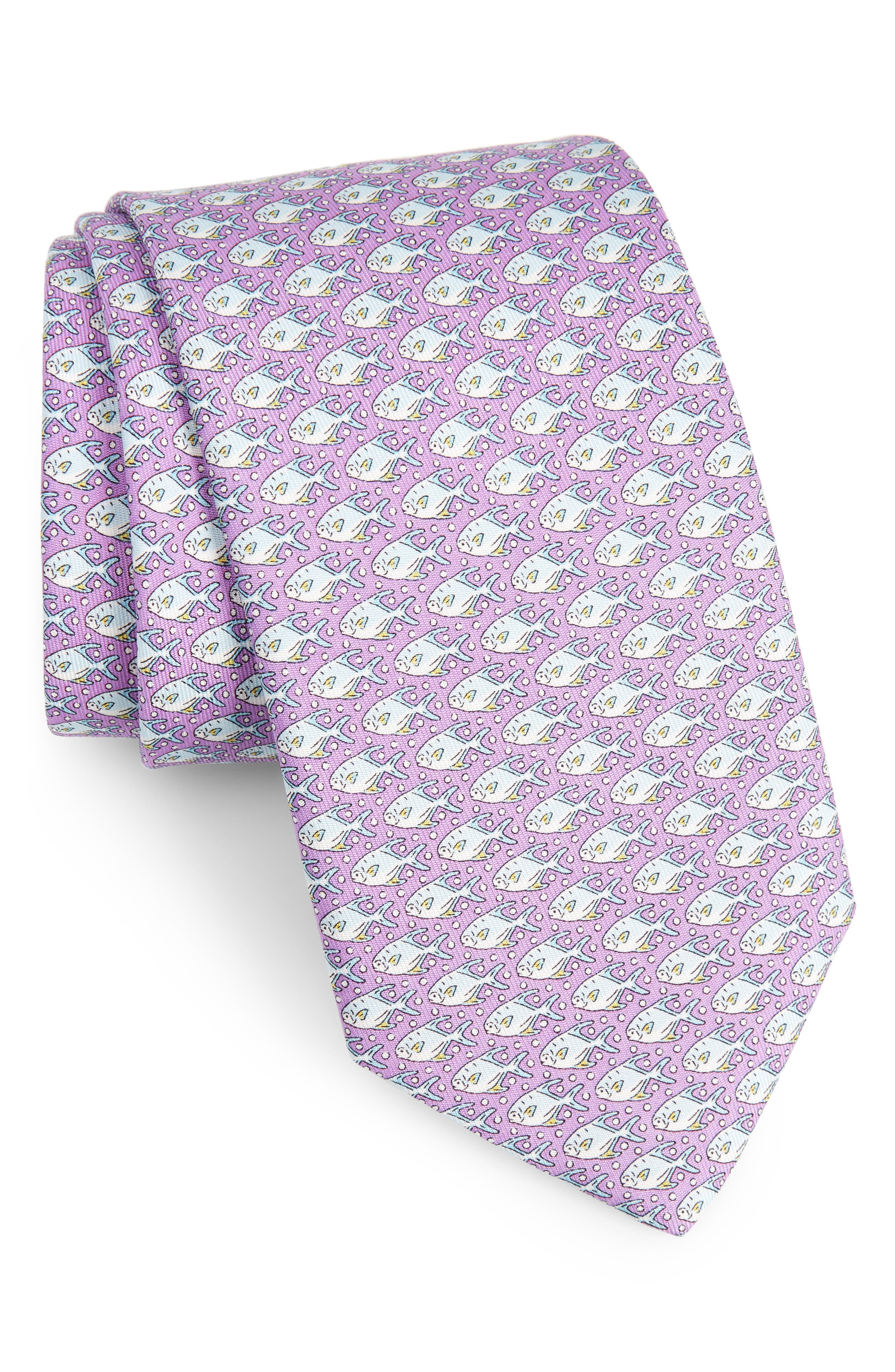 Permit & Bubble Silk Tie,                             Main thumbnail 3, color,