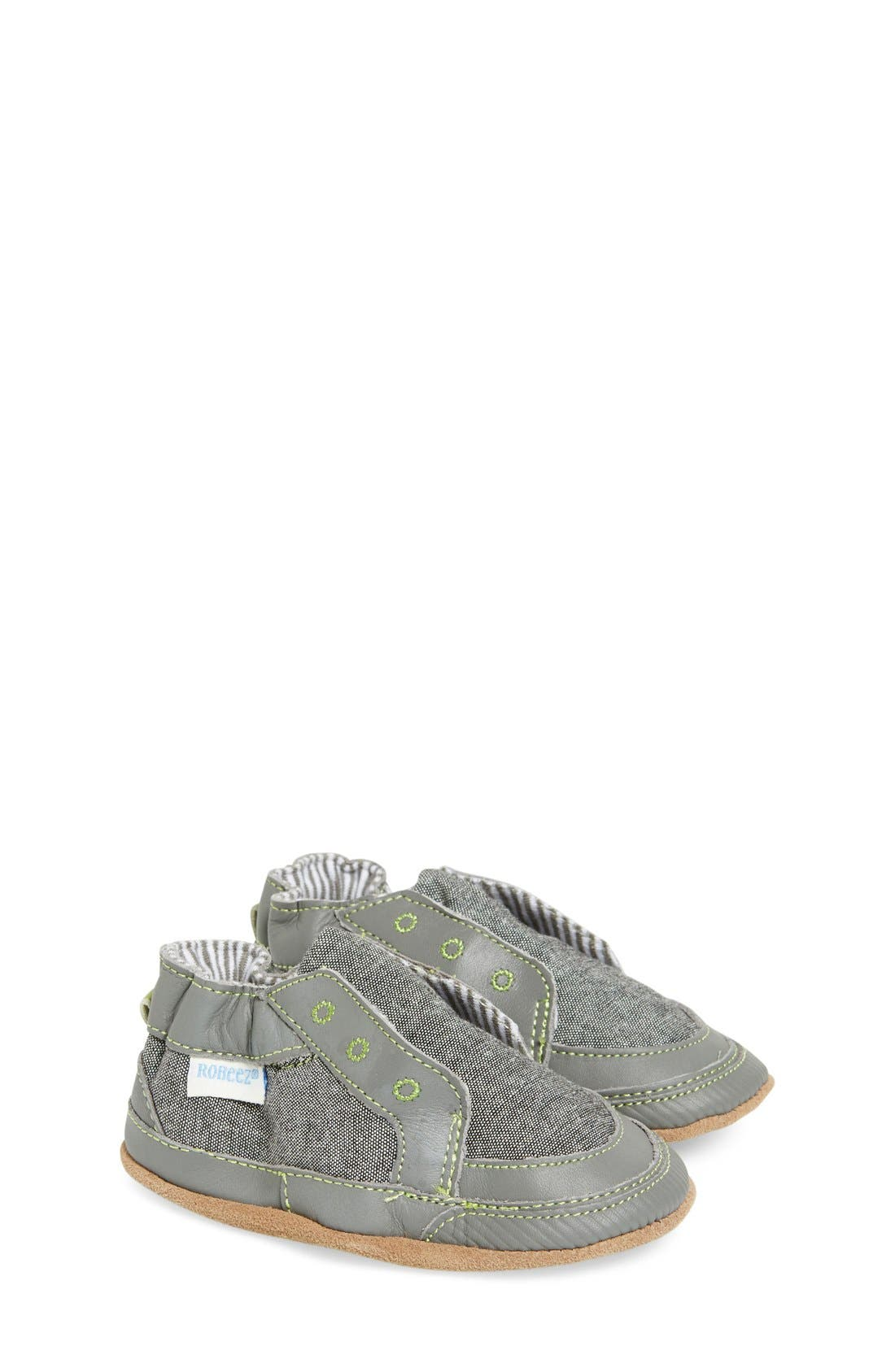 'Stylish Steve' Slip On,                             Main thumbnail 1, color,                             GREY