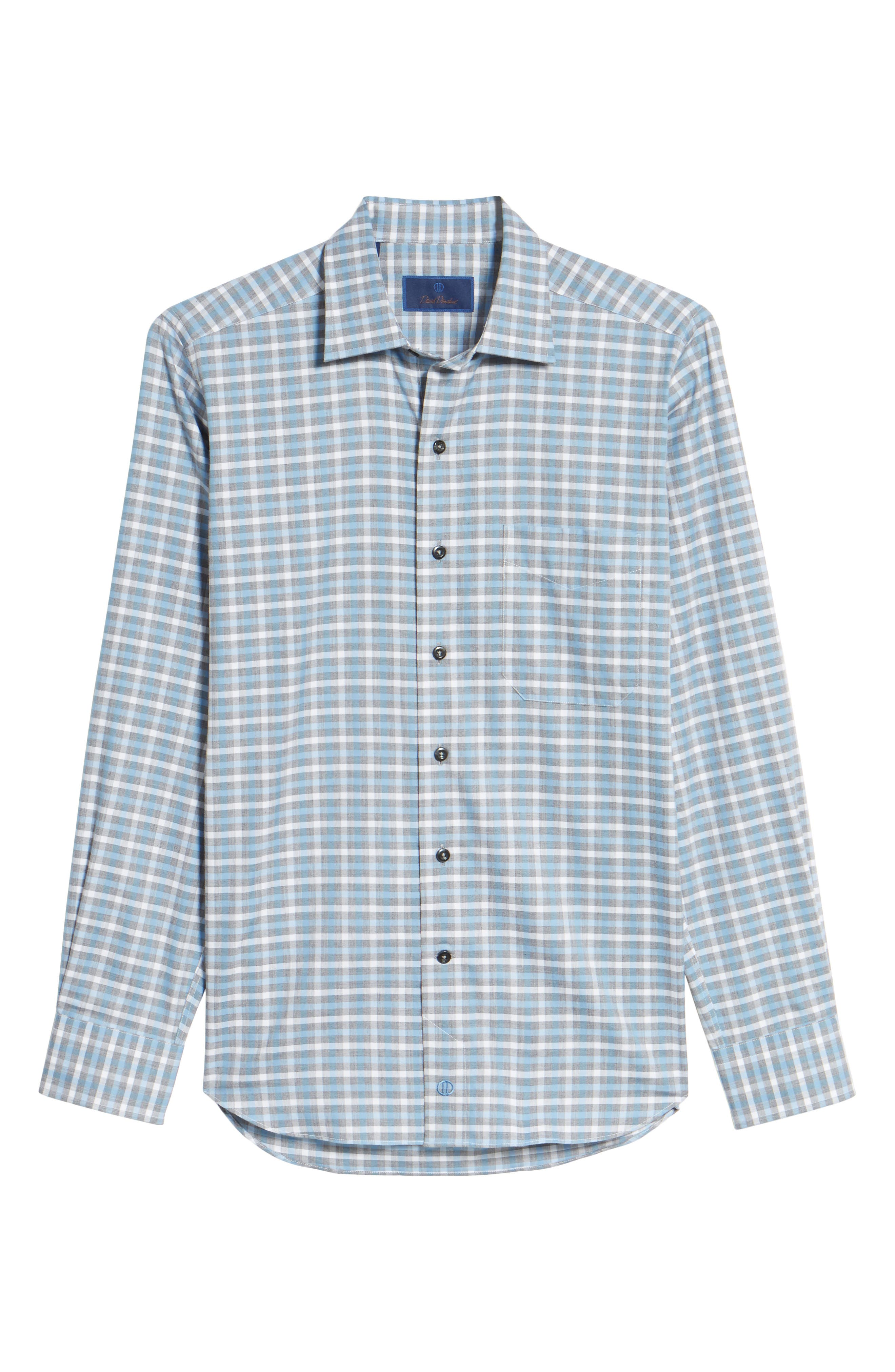 Plaid Regular Fit Sport Shirt,                             Alternate thumbnail 11, color,