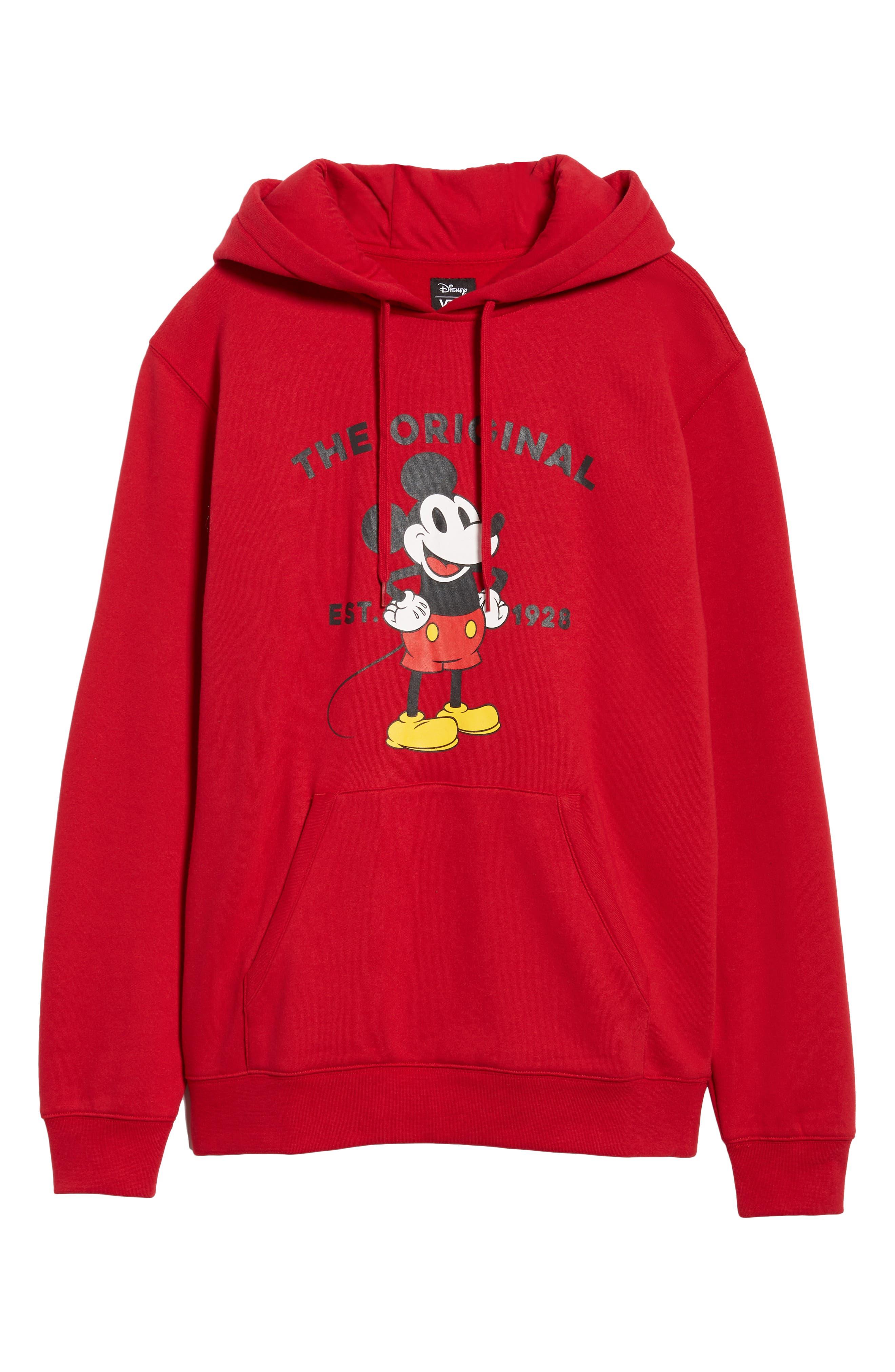 x Disney Mickey's 90th Anniversary Hoodie,                             Alternate thumbnail 6, color,                             601