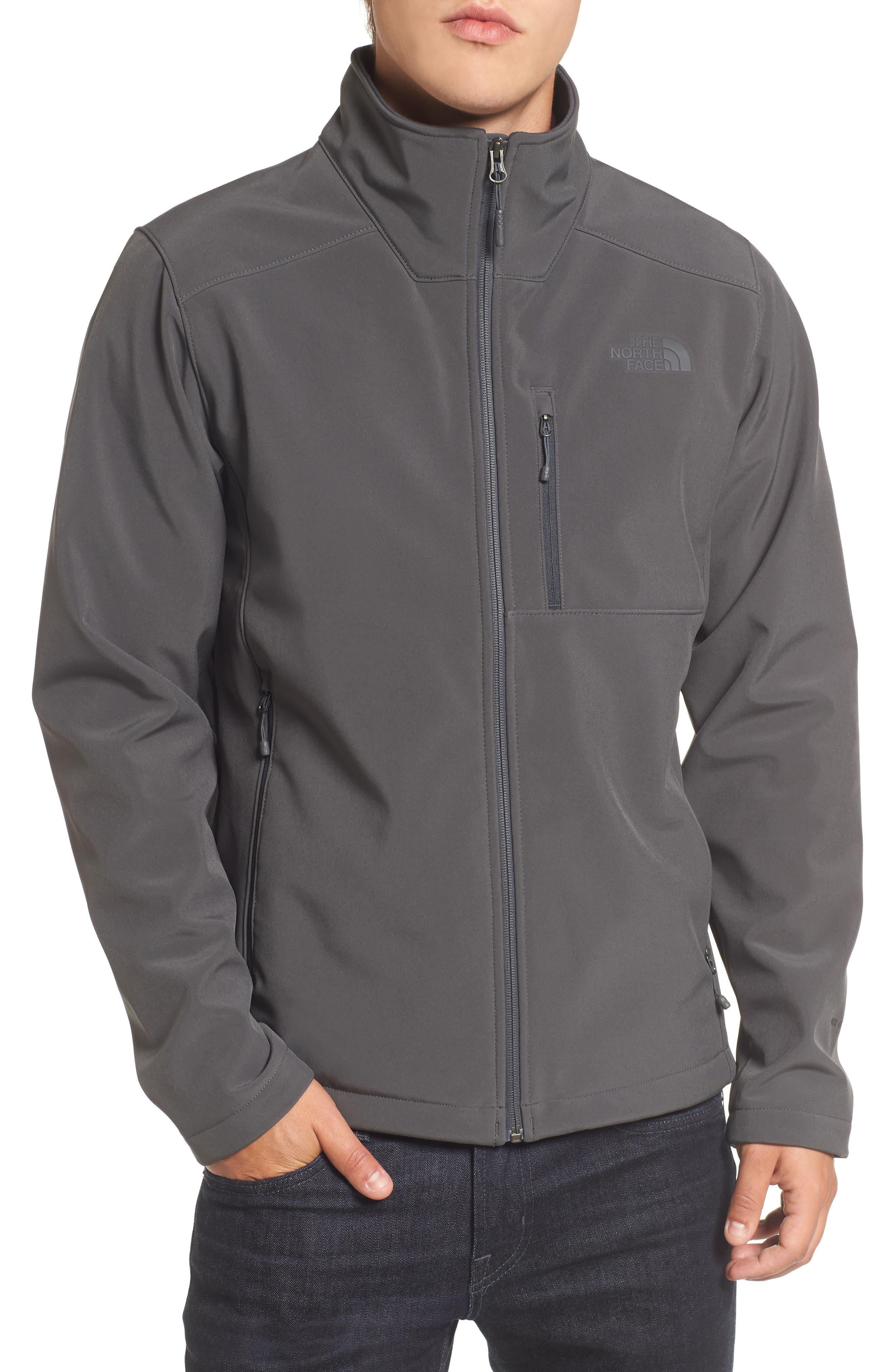 'Apex Bionic 2' Windproof & Water Resistant Soft Shell Jacket,                         Main,                         color, ASPHALT GREY/ASPHALT GREY