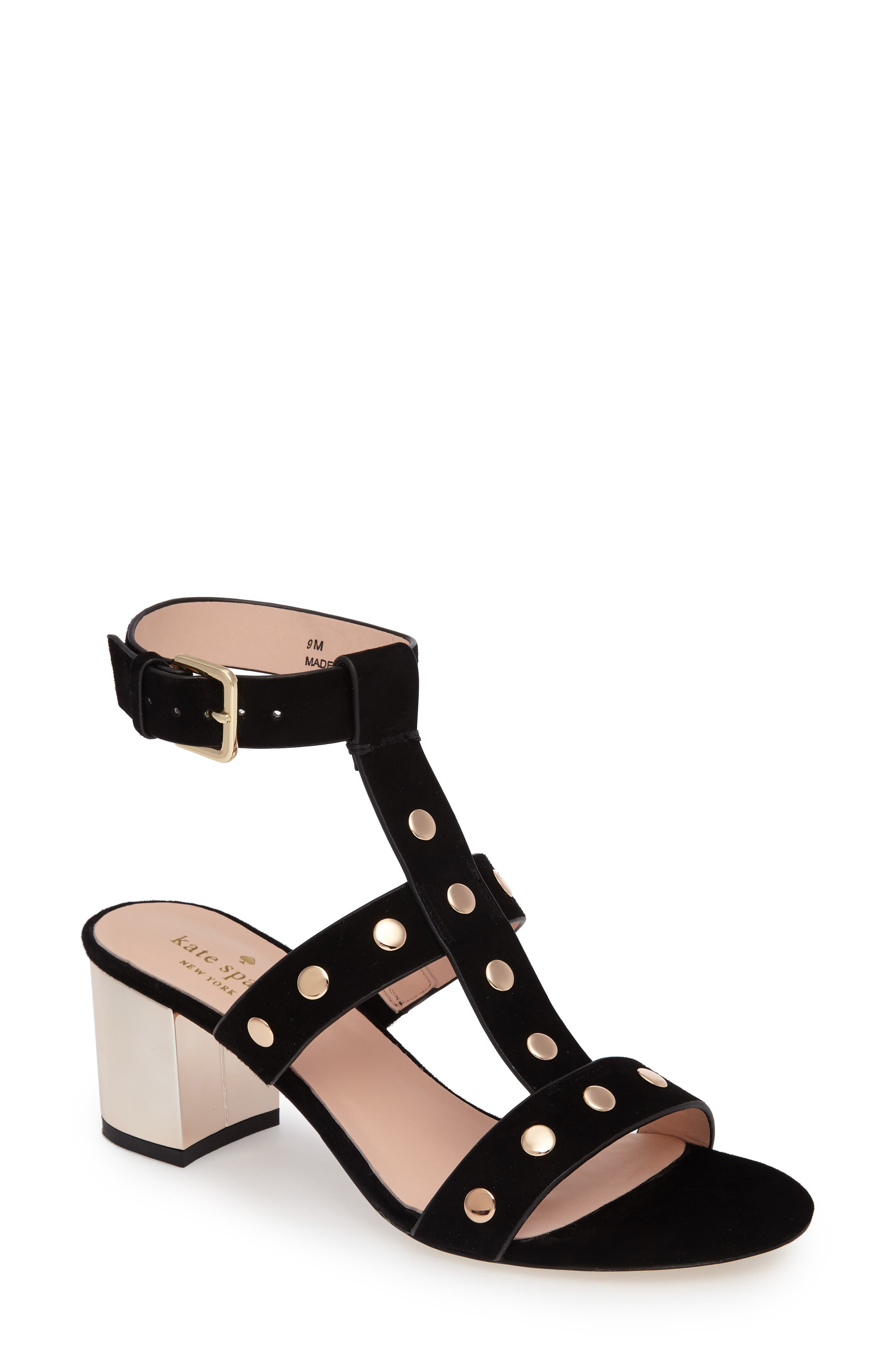 welby t-strap sandal,                         Main,                         color, 001