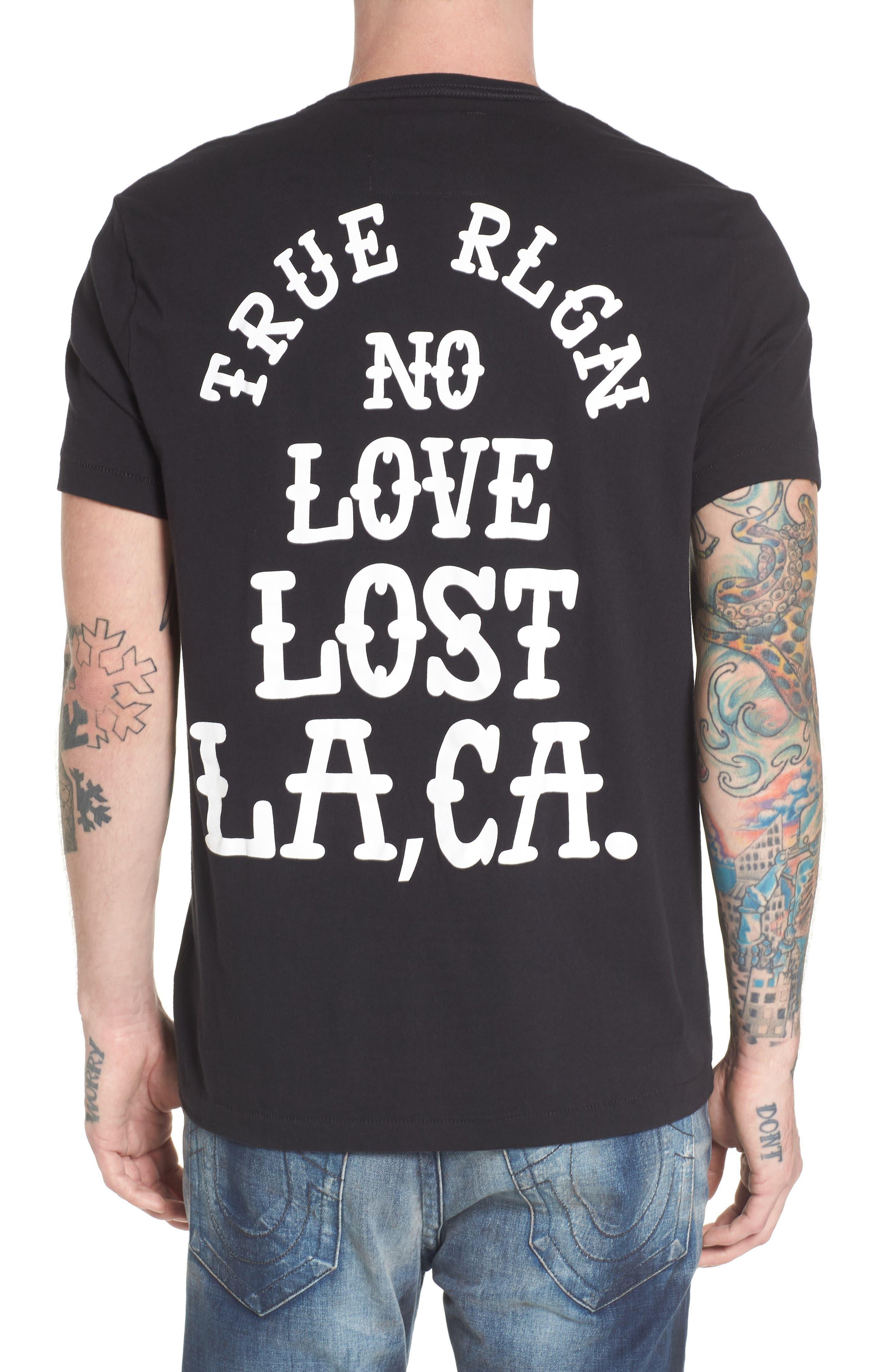 No Love Lost T-Shirt,                             Alternate thumbnail 2, color,                             001
