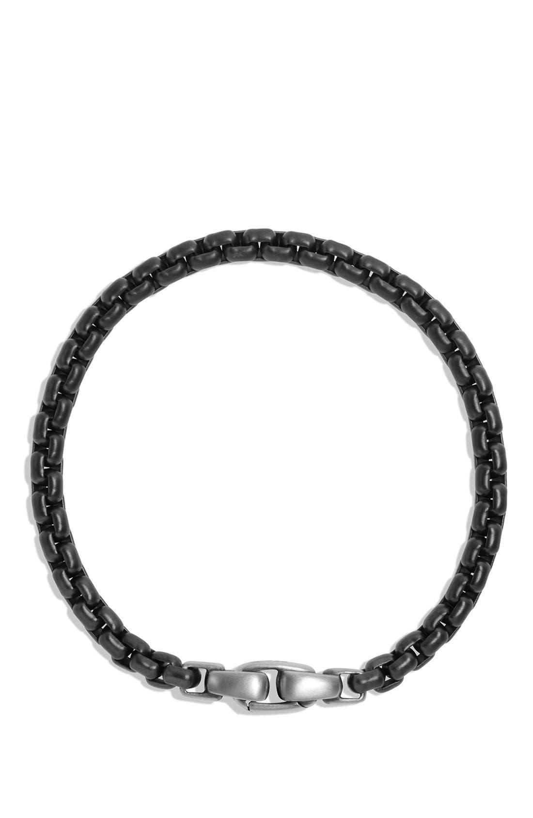 Box Chain Bracelet,                             Alternate thumbnail 2, color,                             STAINLESS STEEL