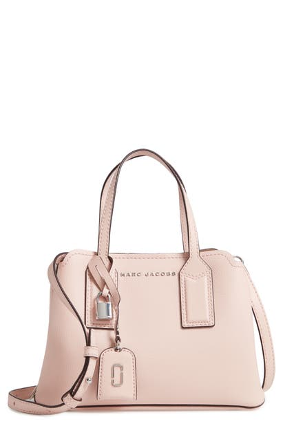 Marc Jacobs Leathers THE EDITOR 29 LEATHER CROSSBODY BAG - PINK